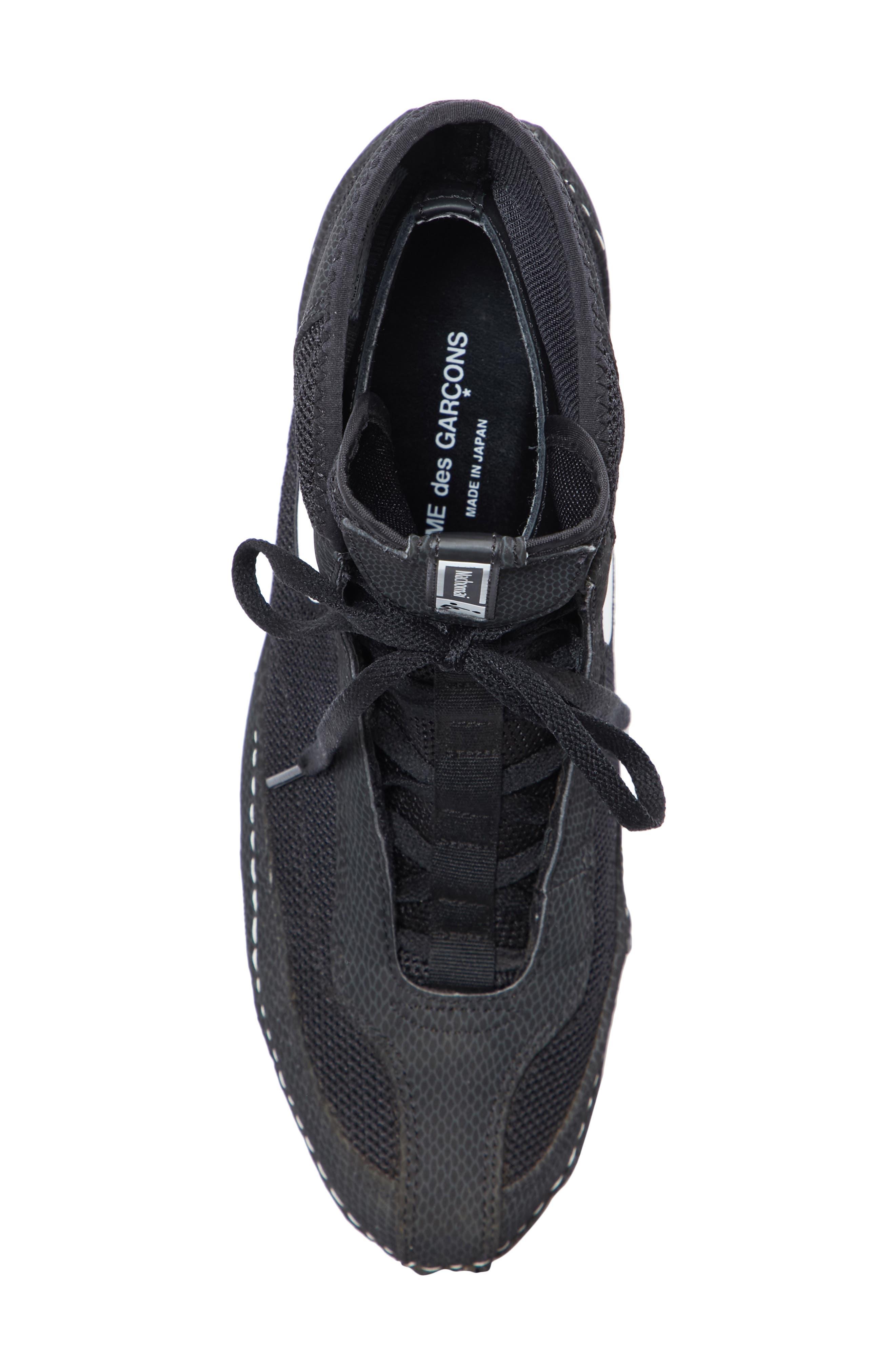 x Nike Heeled Bootie,                             Alternate thumbnail 5, color,                             BLACK