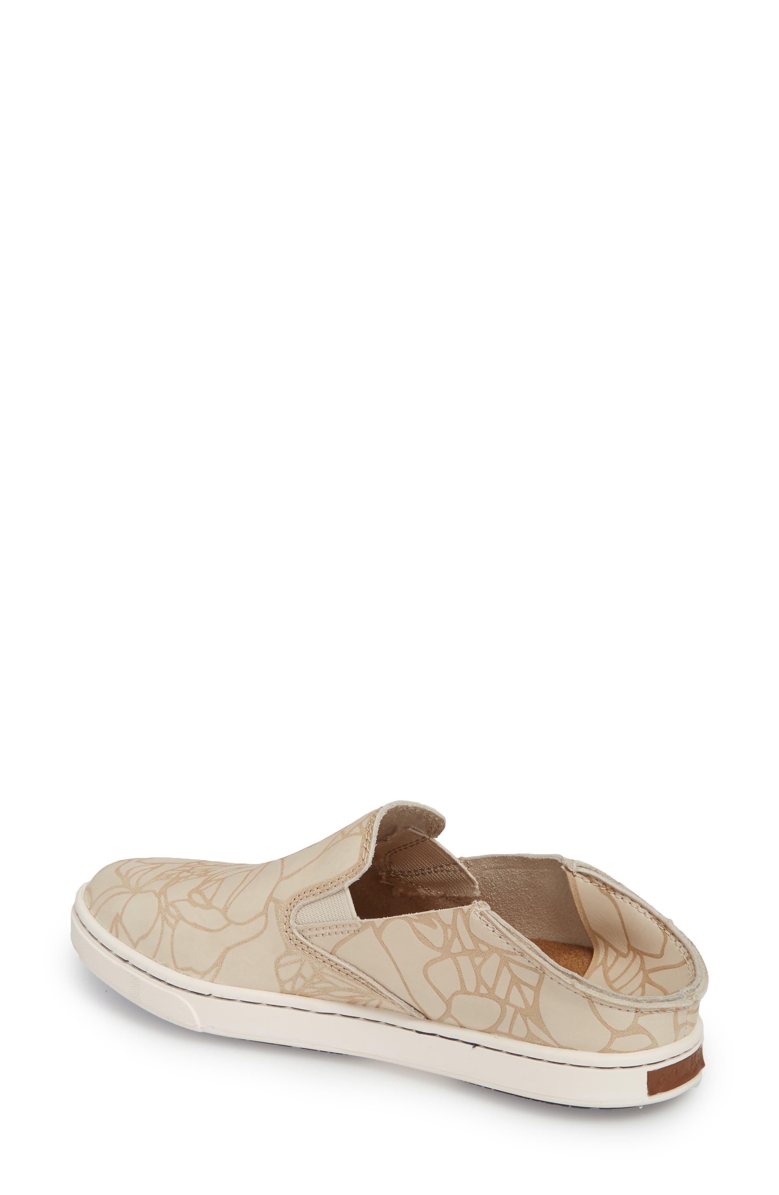 Pehuea Lau Slip-On Sneaker,                             Alternate thumbnail 3, color,                             TAPA/ TAPA FABRIC