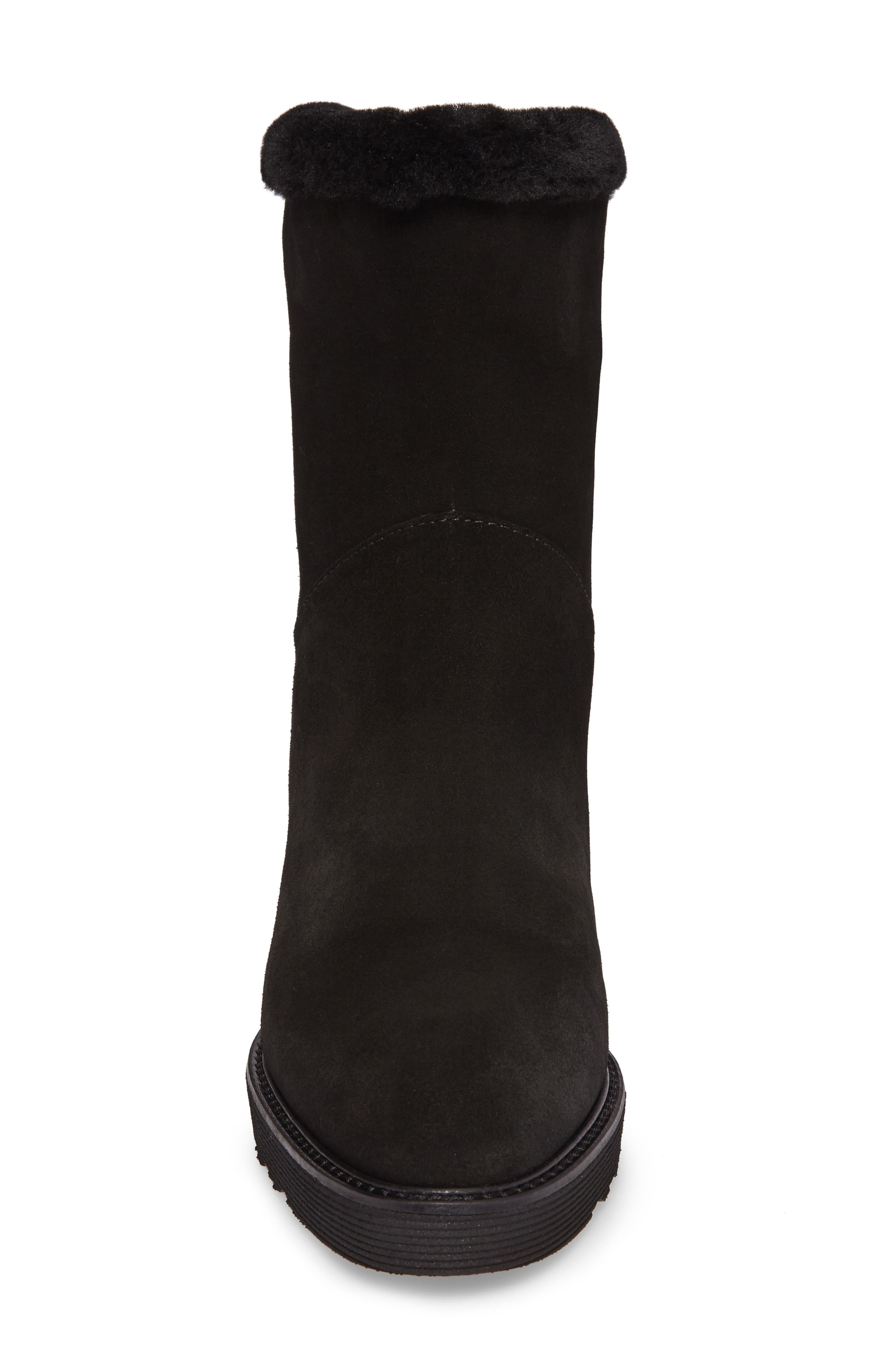 Kimberly Weatherproof Genuine Shearling Bootie,                             Alternate thumbnail 13, color,