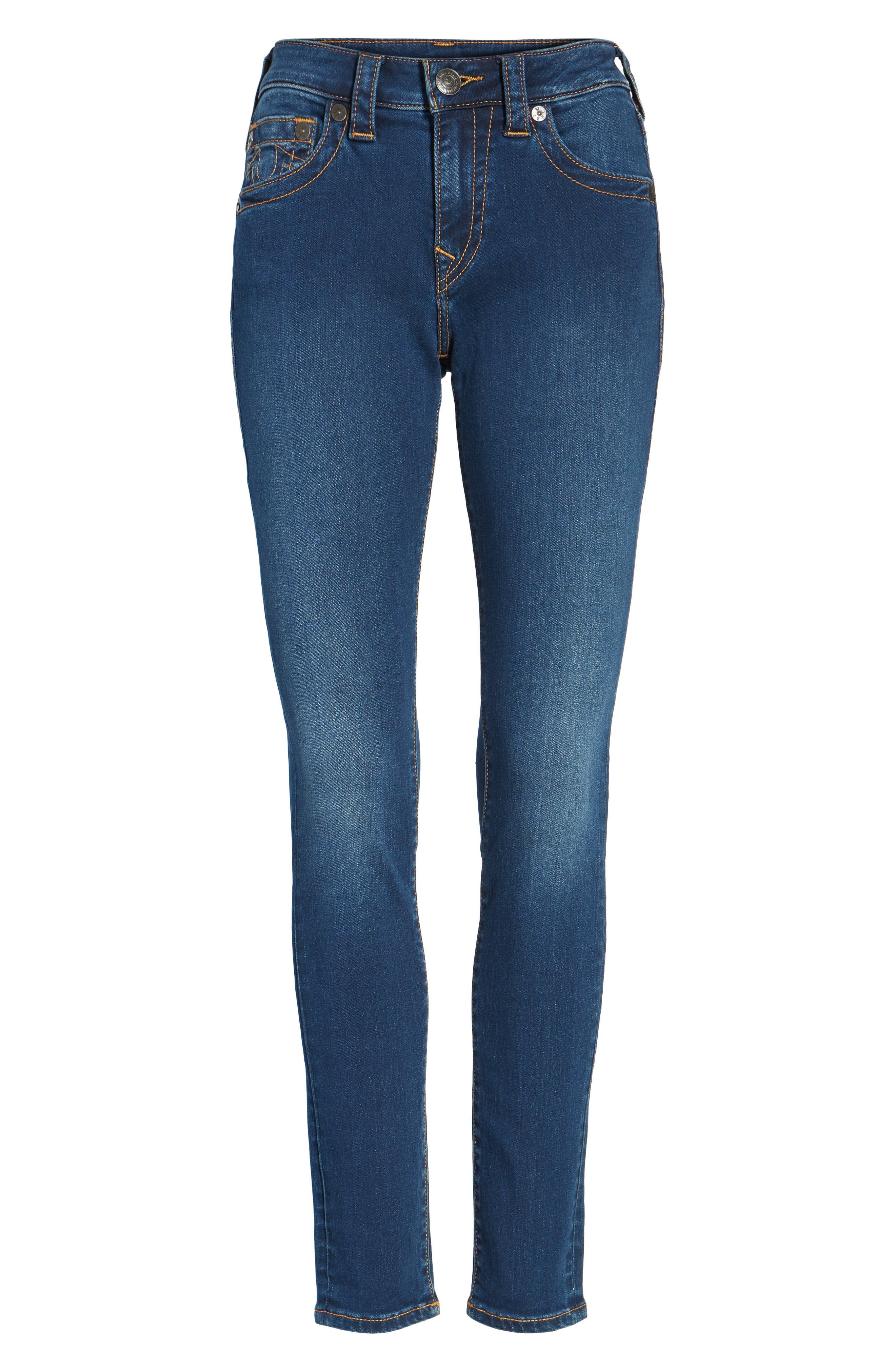 Jennie Curvy Skinny Jeans,                             Alternate thumbnail 6, color,