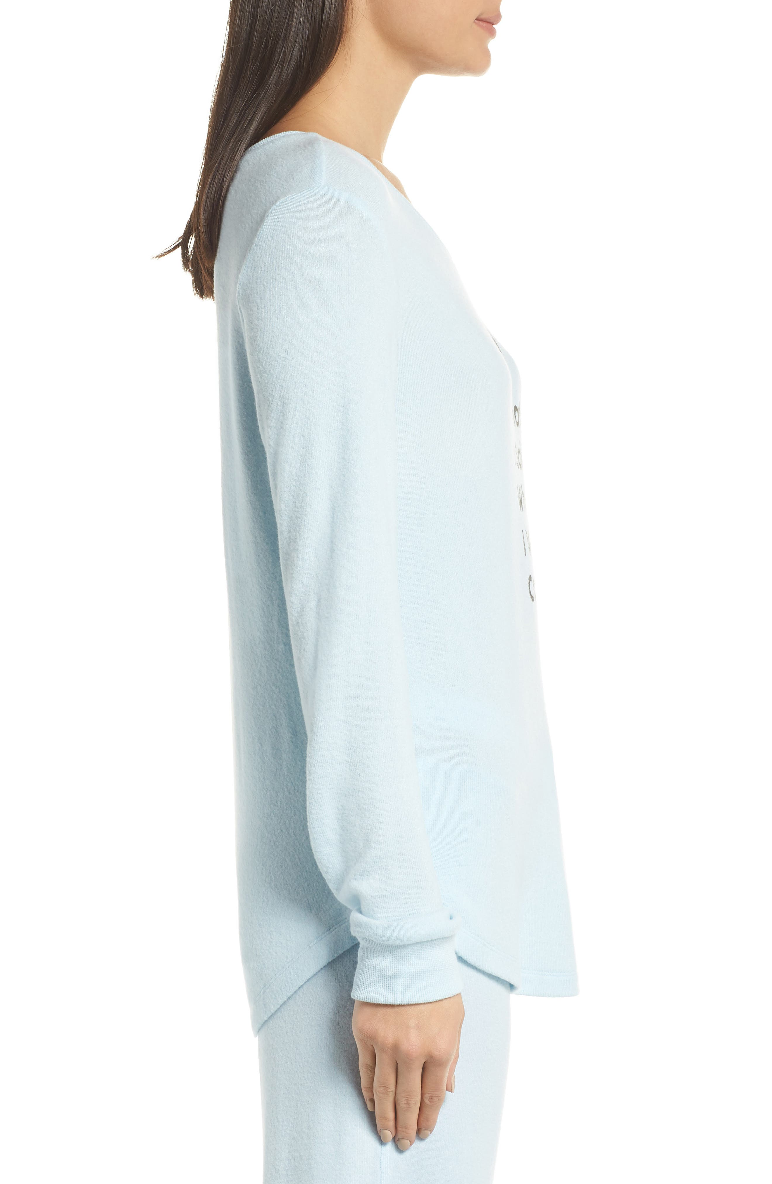 Too Cool Pullover,                             Alternate thumbnail 3, color,                             BLUE OMPHALODES