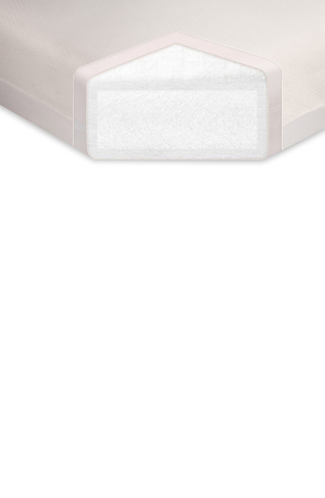 'Pure Core' Nontoxic Crib Mattress & Water Repellent SMART Cover,                             Alternate thumbnail 4, color,                             100
