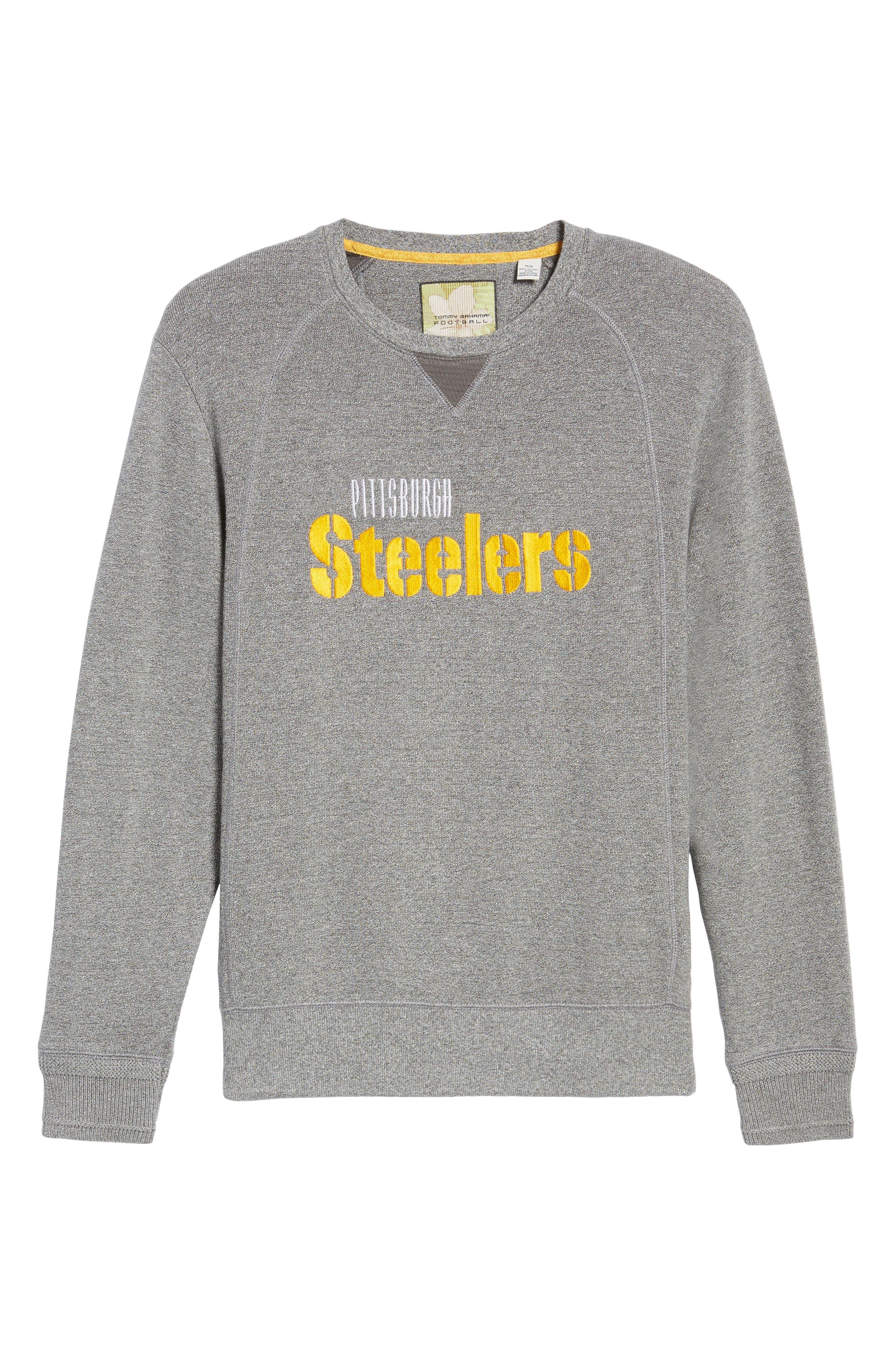 NFL Stitch of Liberty Embroidered Crewneck Sweatshirt,                             Alternate thumbnail 179, color,