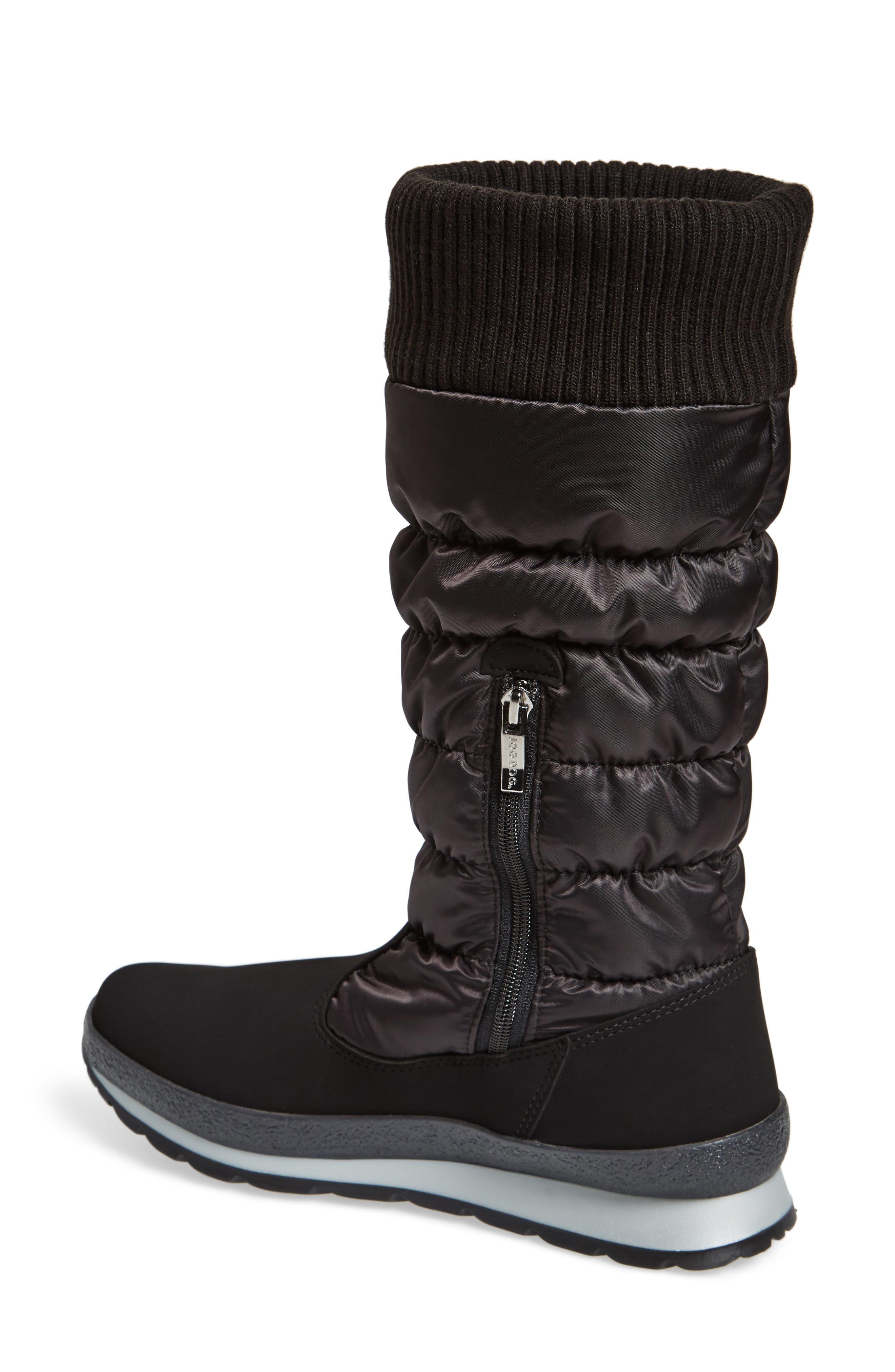 St. Anton Waterproof Winter Boot,                             Alternate thumbnail 2, color,                             BLACK/ ANTHRACITE