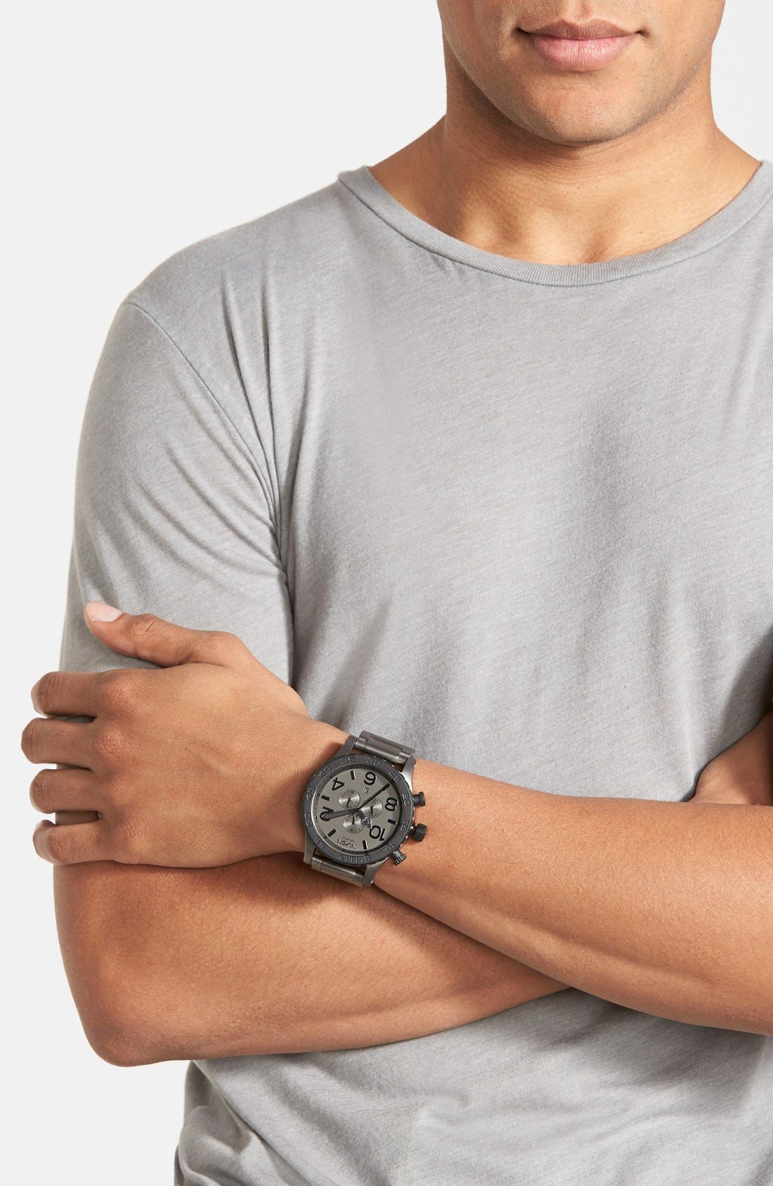 'The 51-30 Chrono' Watch, 51mm,                             Alternate thumbnail 4, color,                             020