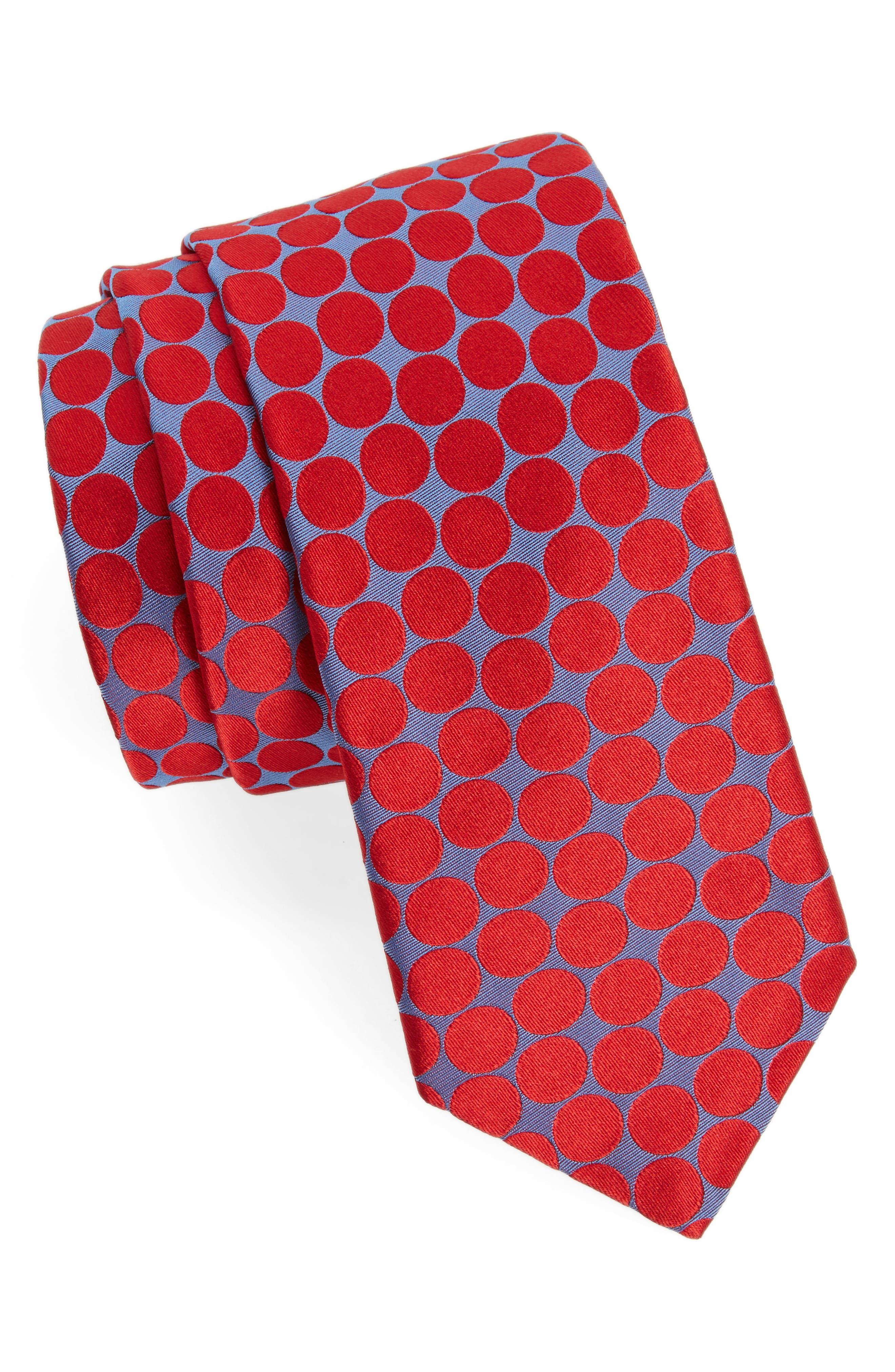 Spots II Silk Tie,                             Main thumbnail 2, color,