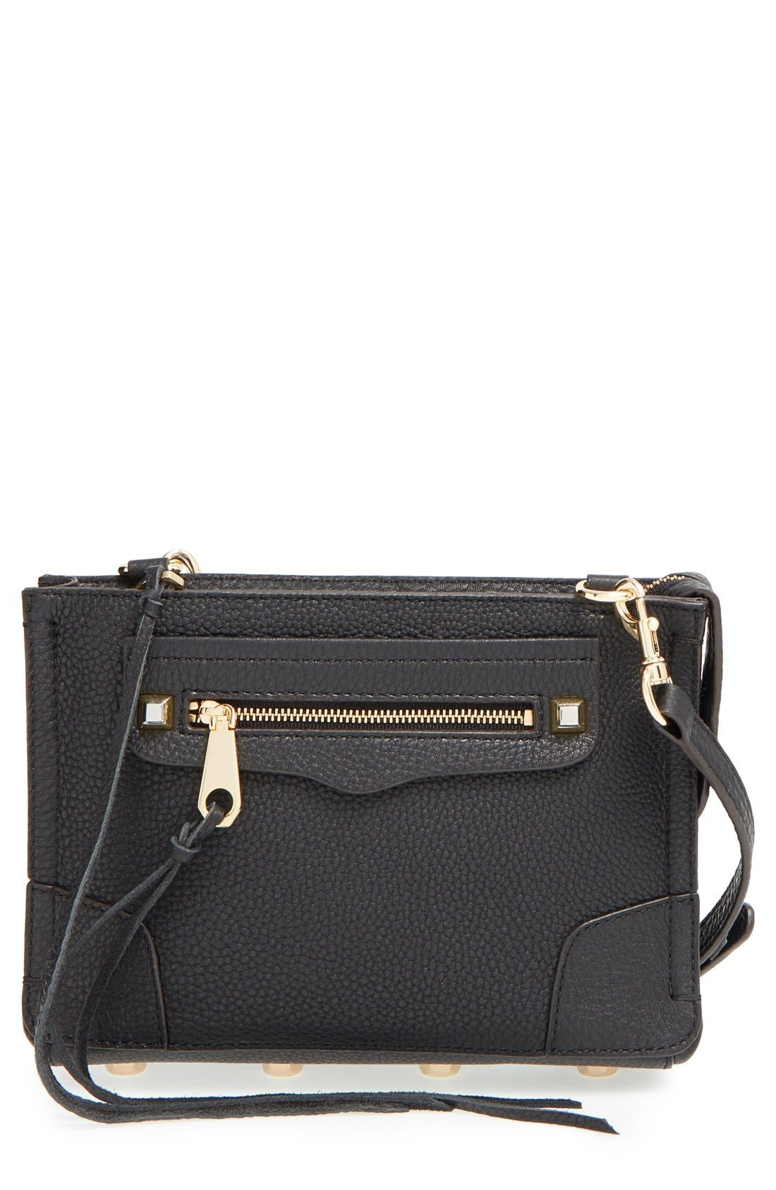 'Regan' Crossbody Bag,                             Main thumbnail 1, color,                             001