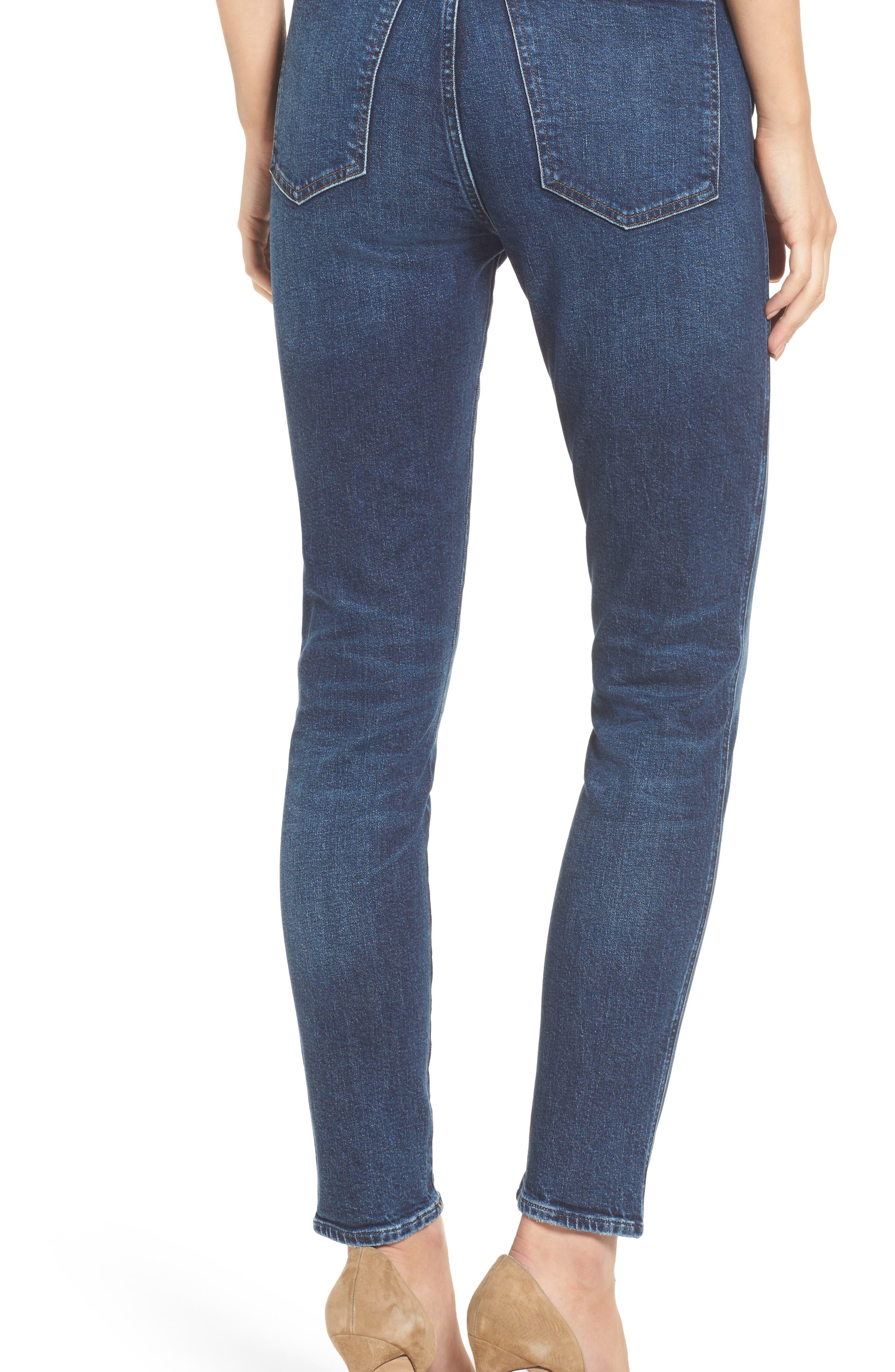 Roxanne Super High Rise Skinny Jeans,                             Alternate thumbnail 2, color,