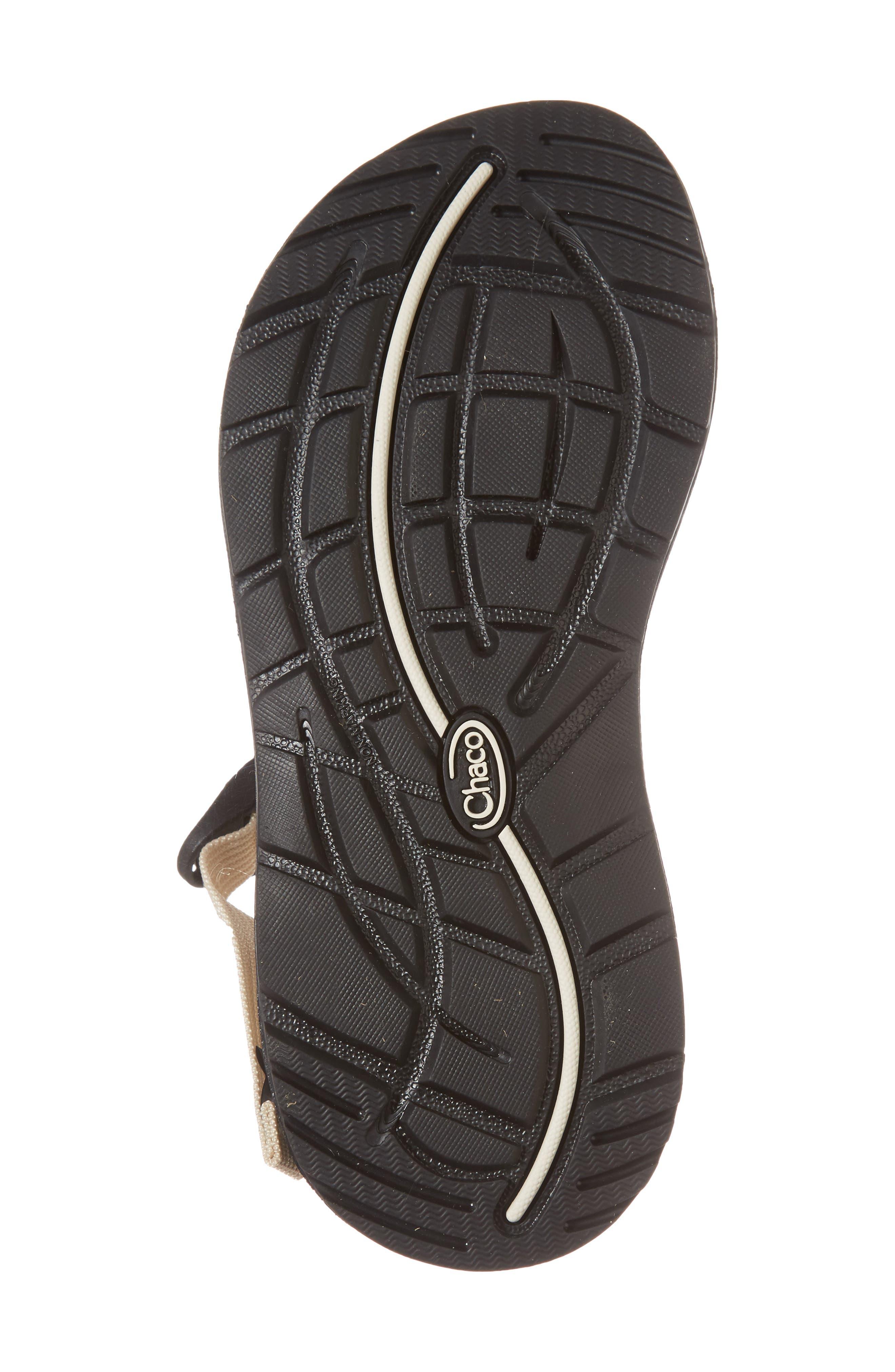 Z/2 Classic Sport Sandal,                             Alternate thumbnail 6, color,                             TRINE BLACK / WHITE