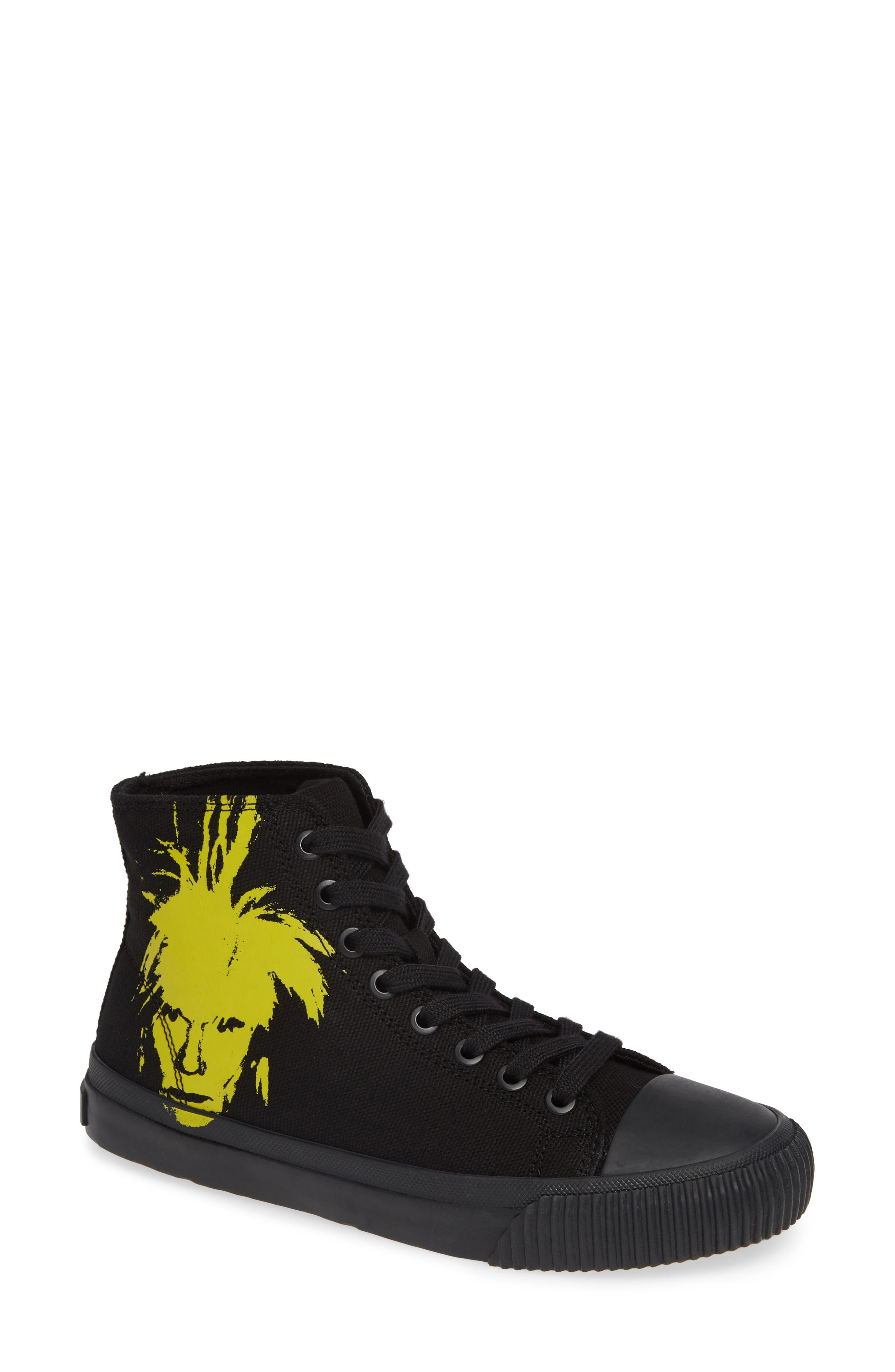 Iconica High Top Sneaker,                             Main thumbnail 1, color,                             001