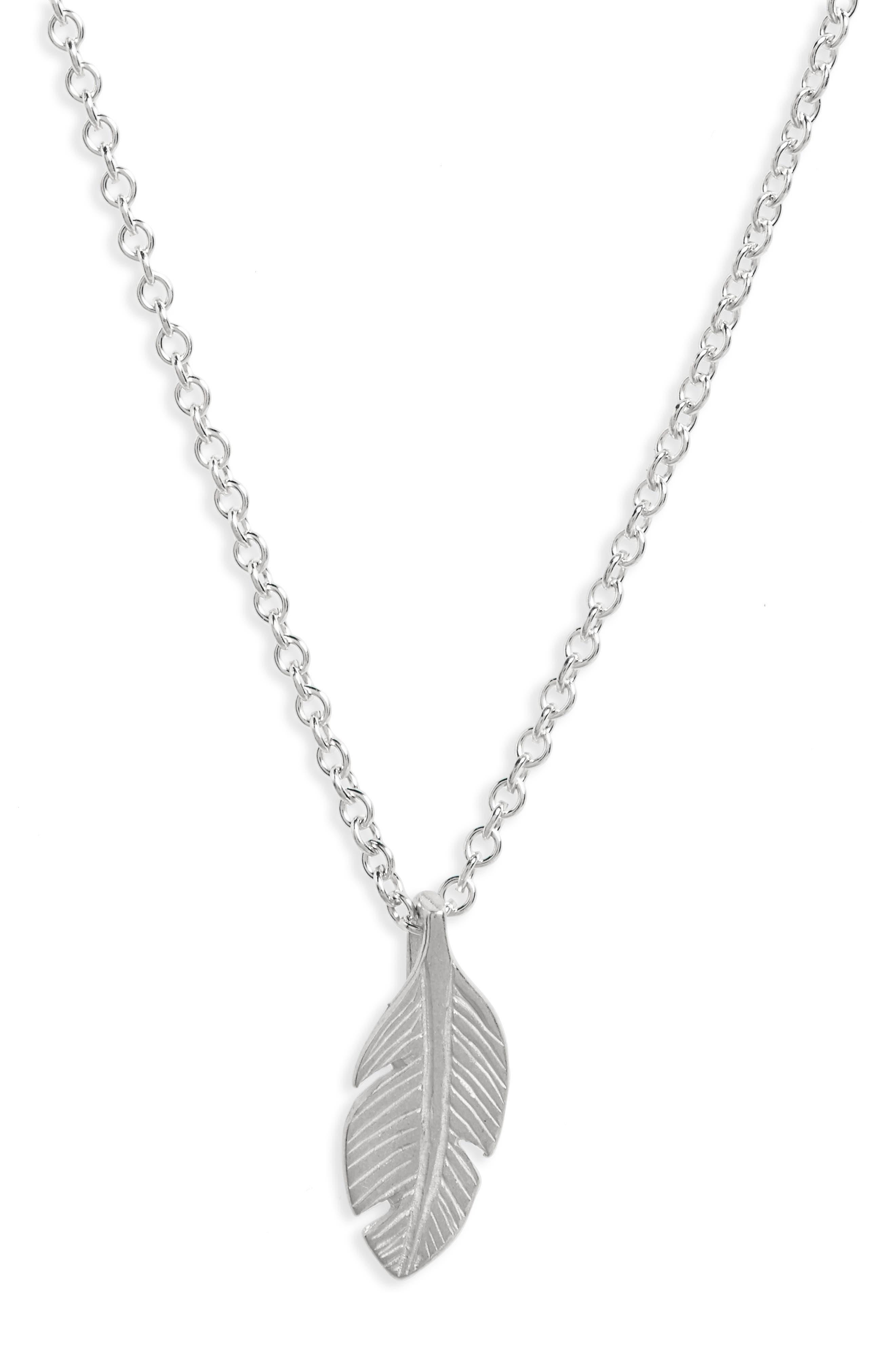 Reminder - Free Bird Pendant Necklace,                             Alternate thumbnail 5, color,