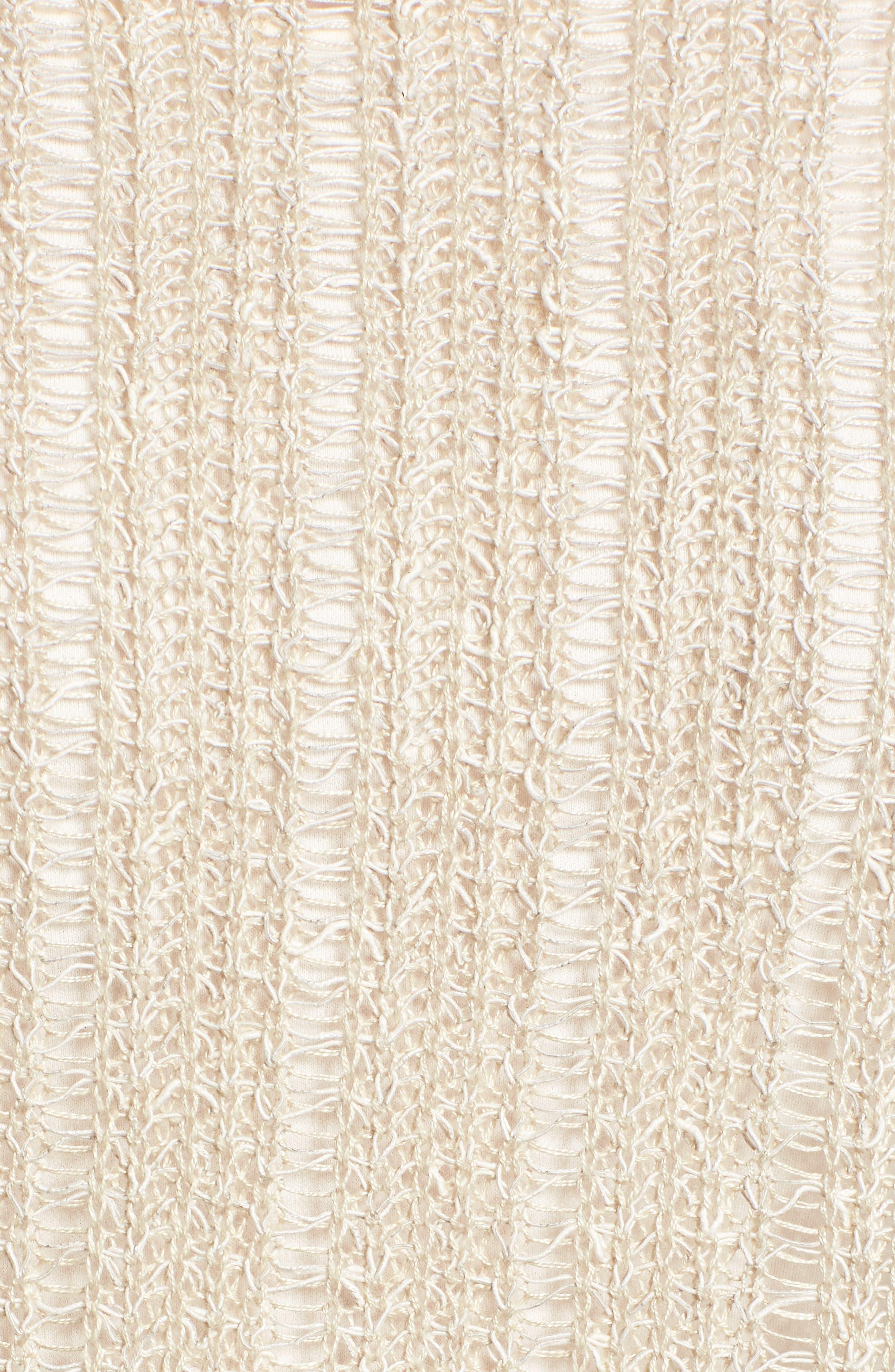 Open Knit Organic Linen Blend Sweater,                             Alternate thumbnail 15, color,