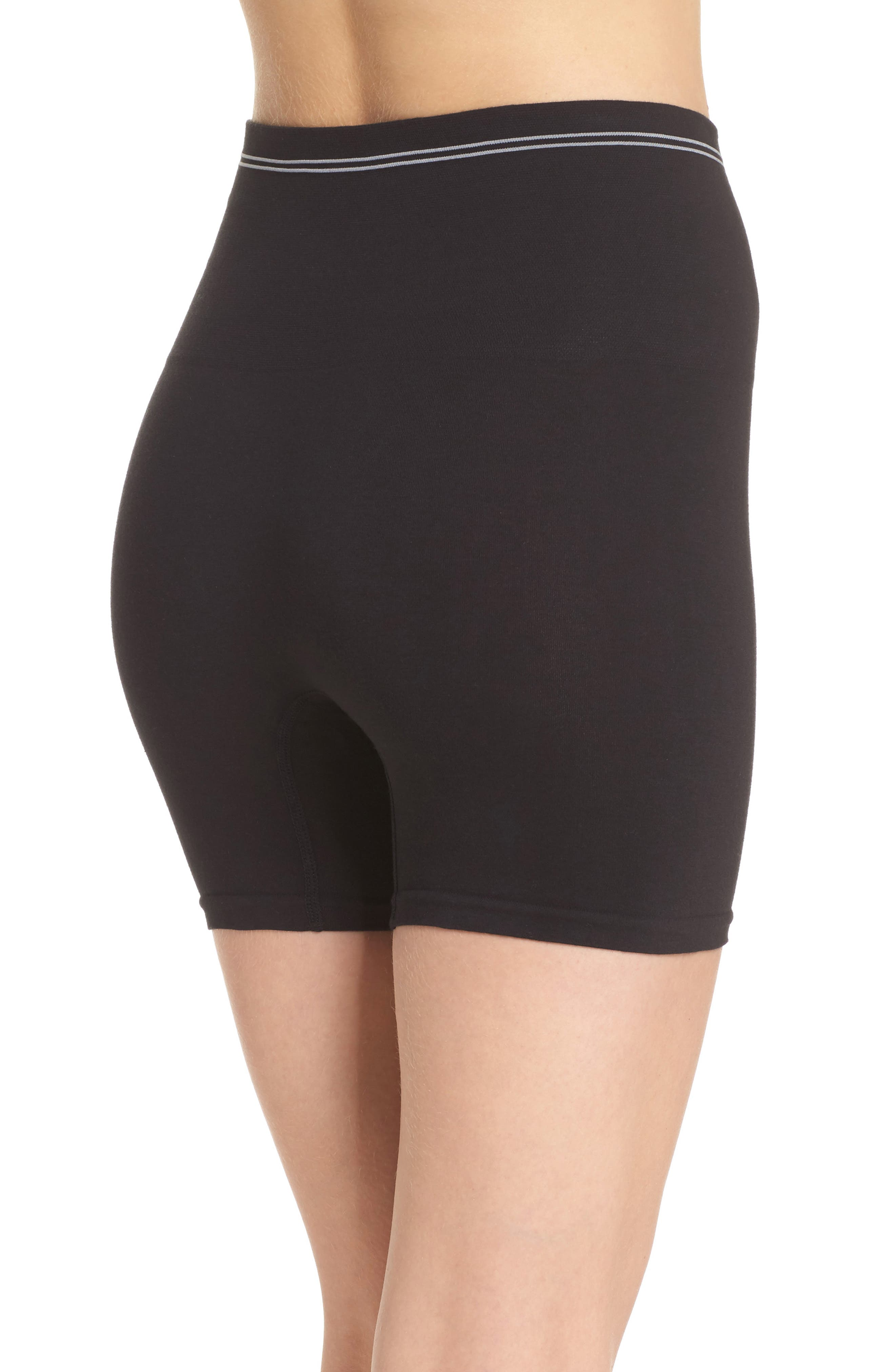 YUMMIE,                             Seamless Shaping Shorts,                             Alternate thumbnail 2, color,                             001
