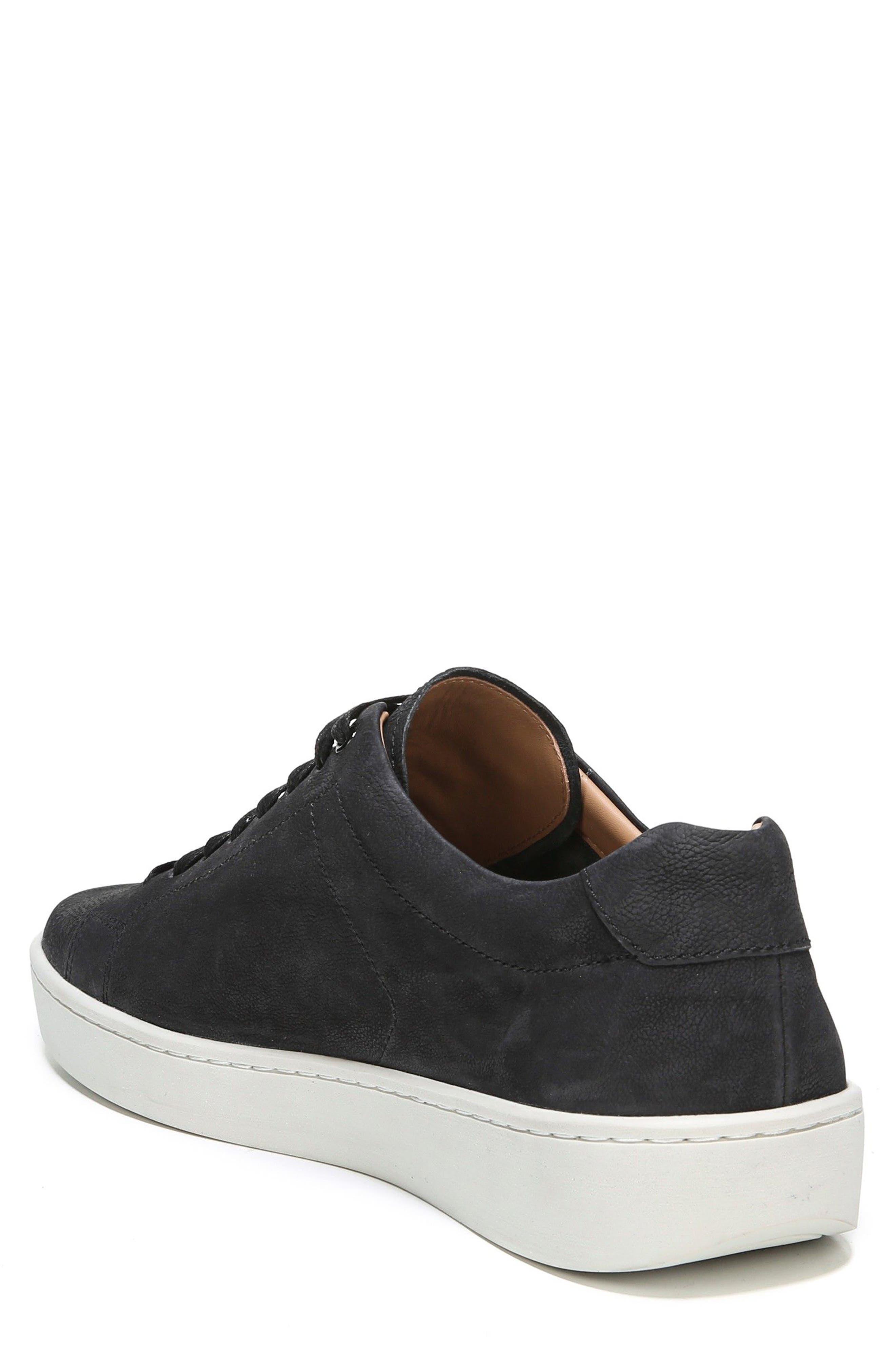 Slater Sneaker,                             Alternate thumbnail 2, color,                             BLACK NUBUCK
