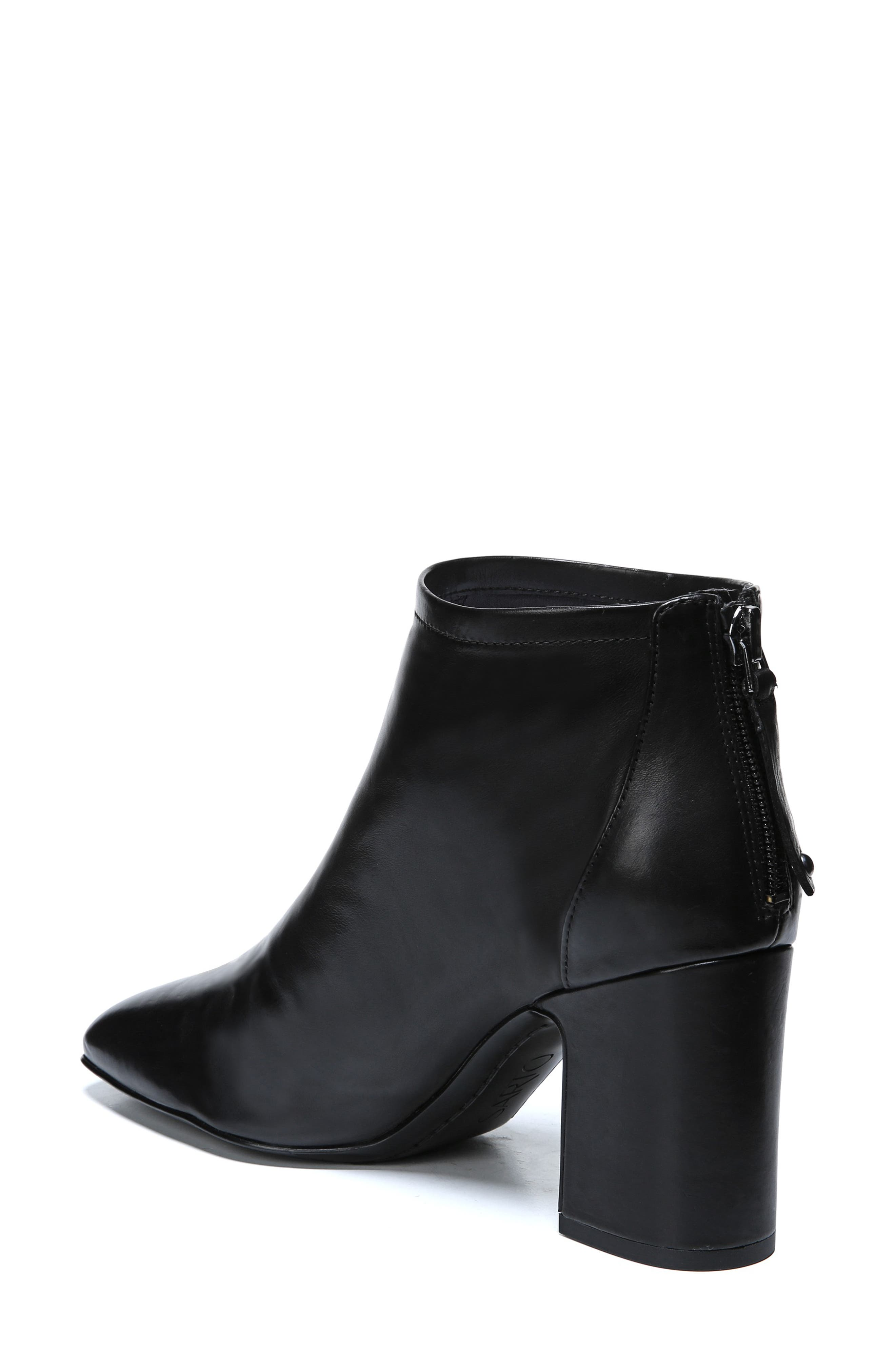 Jacoby Bootie,                             Alternate thumbnail 2, color,                             BLACK STRETCH LEATHER