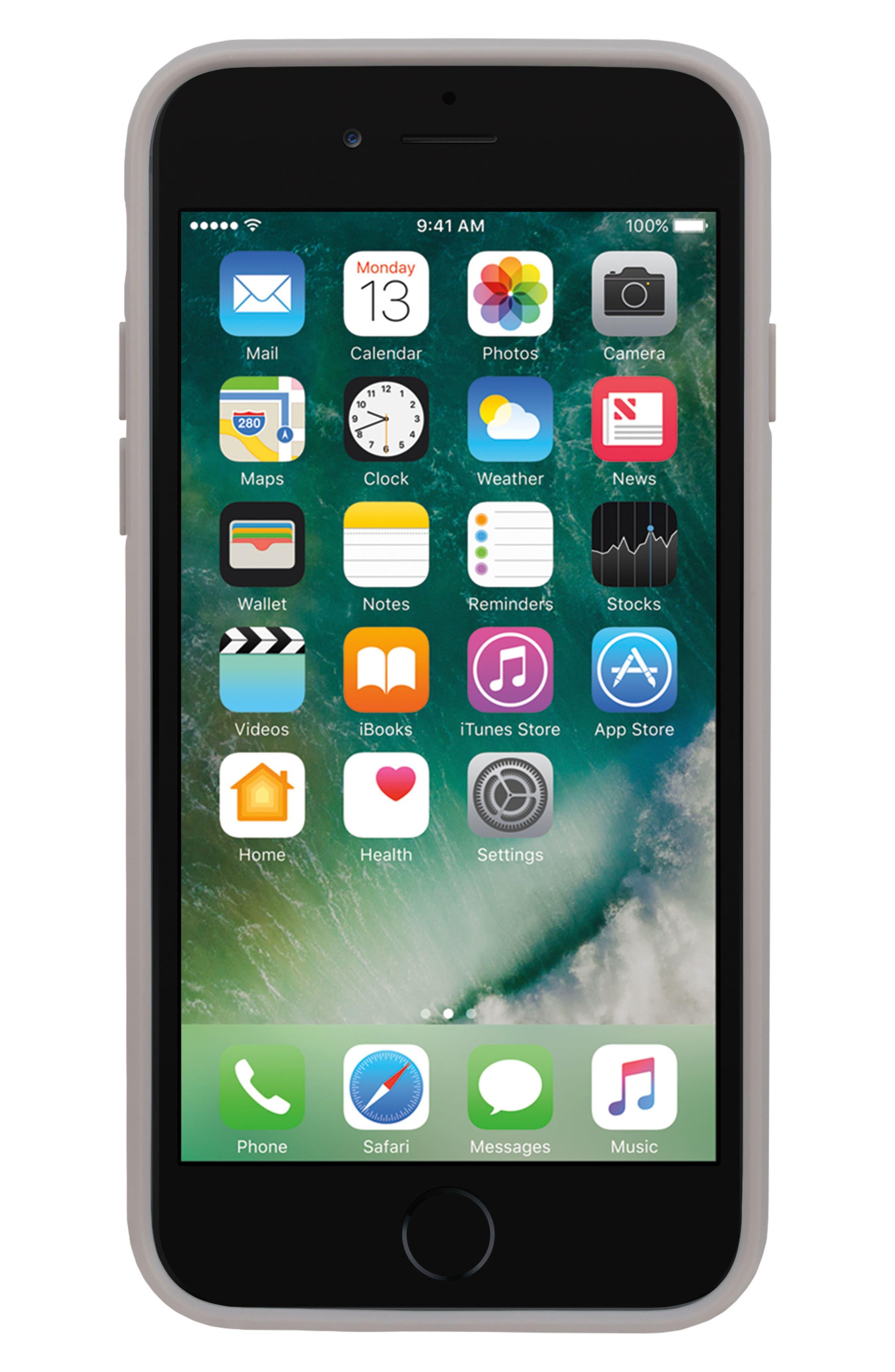 Pop Case Clear iPhone 7 Plus/8 Plus Case,                             Alternate thumbnail 3, color,                             100