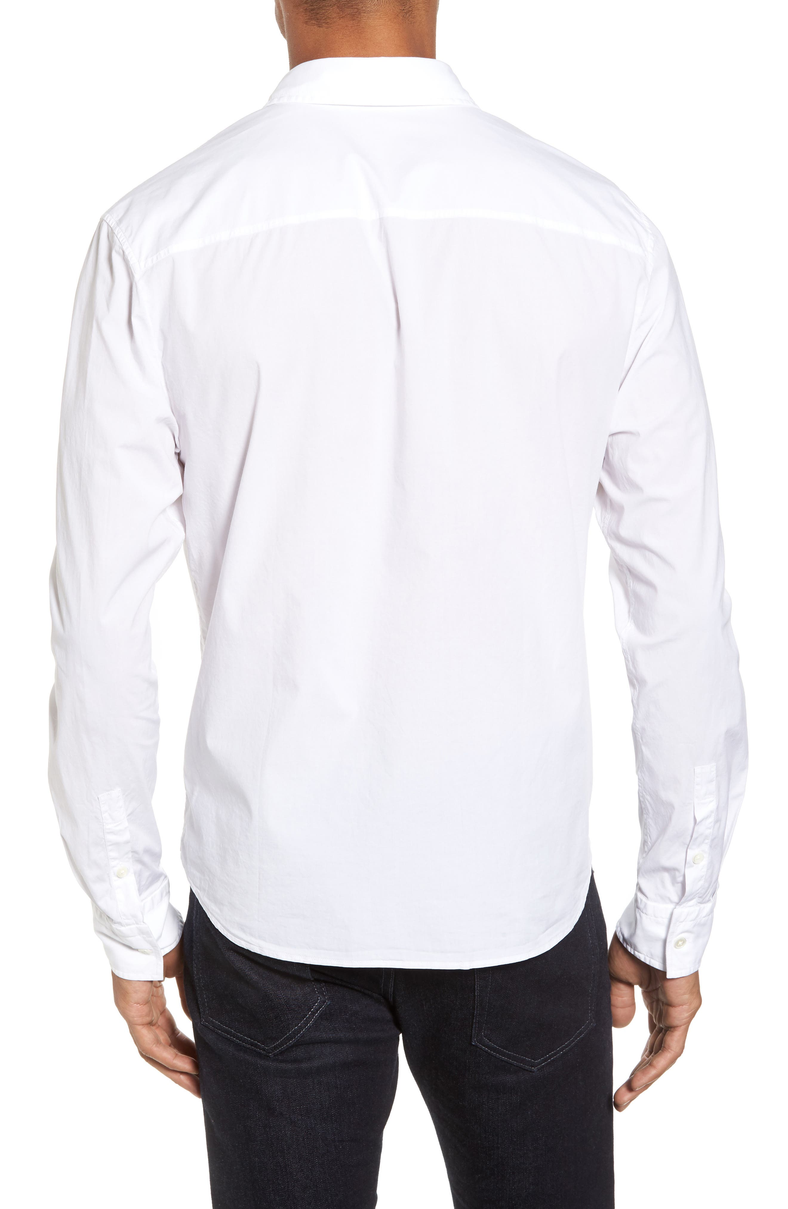 Relaxed Fit Sport Shirt,                             Alternate thumbnail 2, color,                             100
