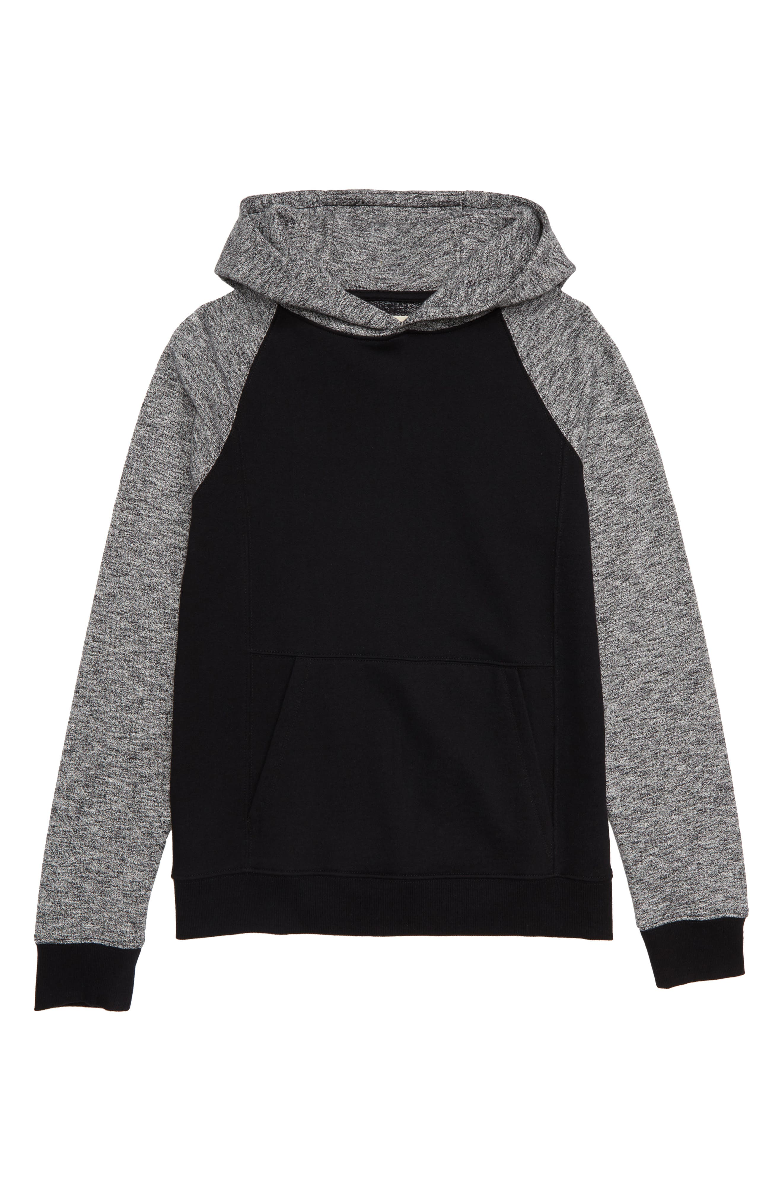 Fleece Hooded Pullover,                         Main,                         color, 001