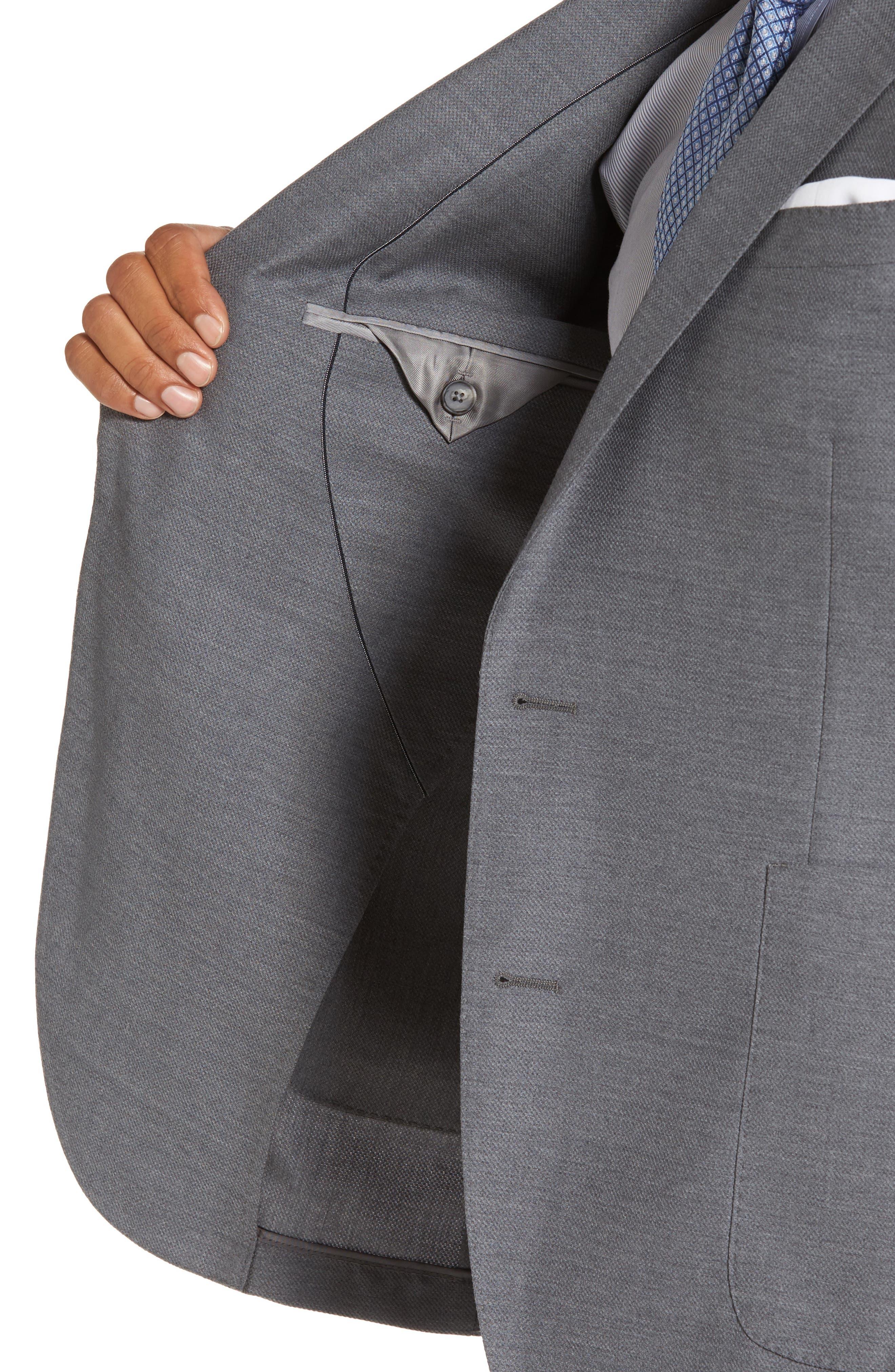 Novan/Ben Classic Fit Suit,                             Alternate thumbnail 4, color,