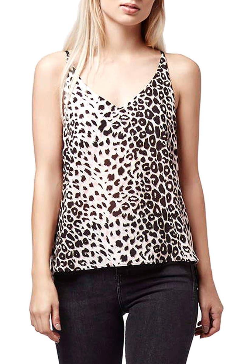 815d0c3931 Topshop Leopard Print Camisole