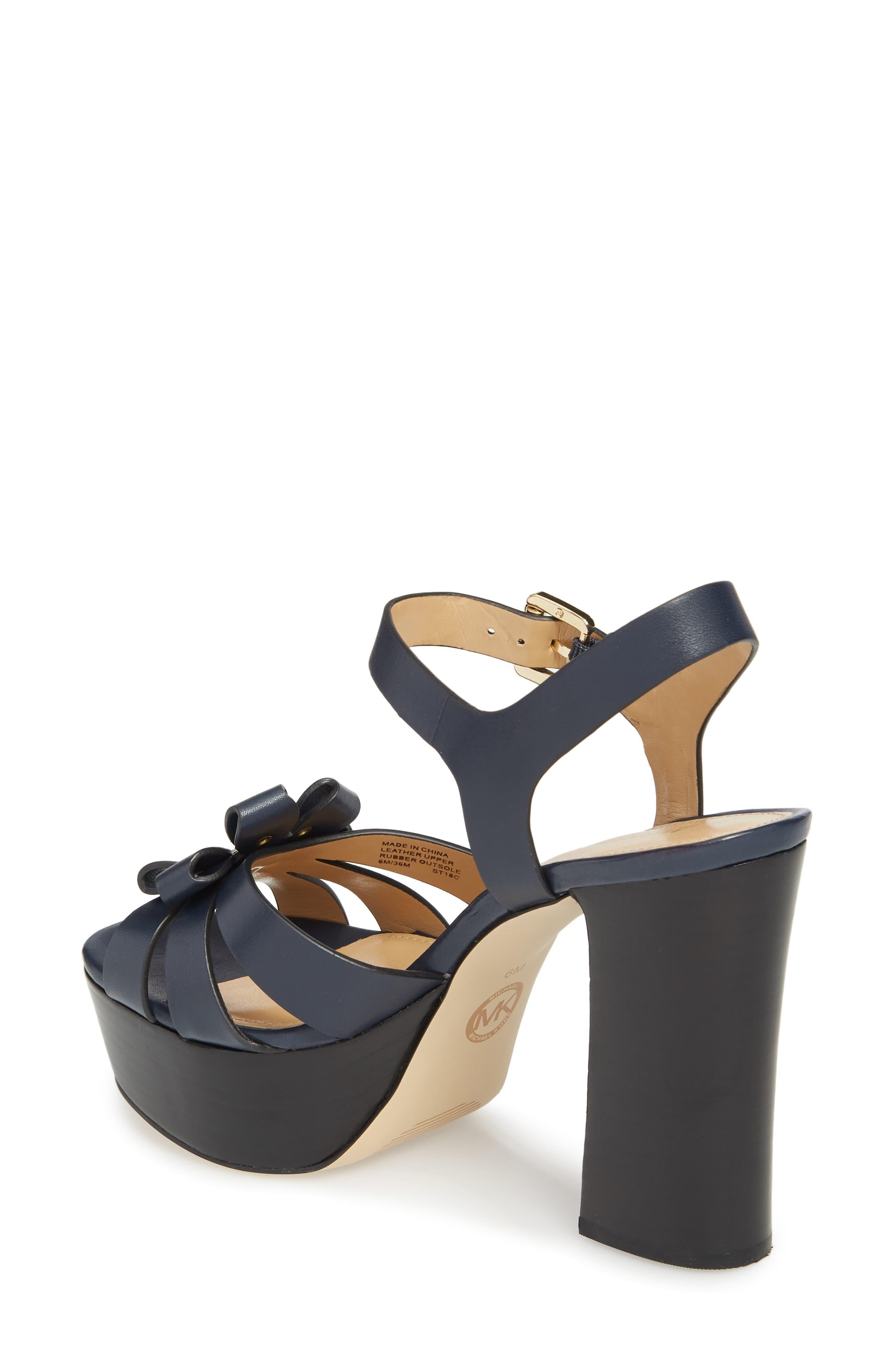 Tara Platform Sandal,                             Alternate thumbnail 2, color,