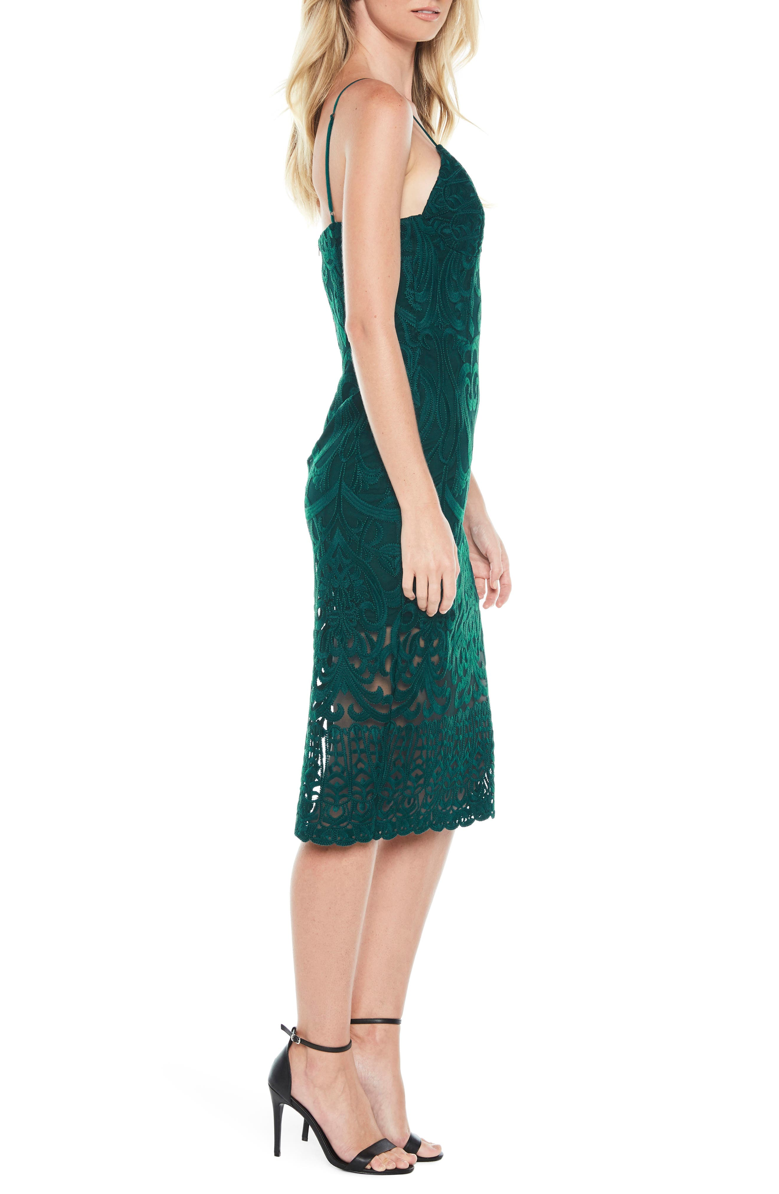 Gia Lace Pencil Dress,                             Alternate thumbnail 20, color,