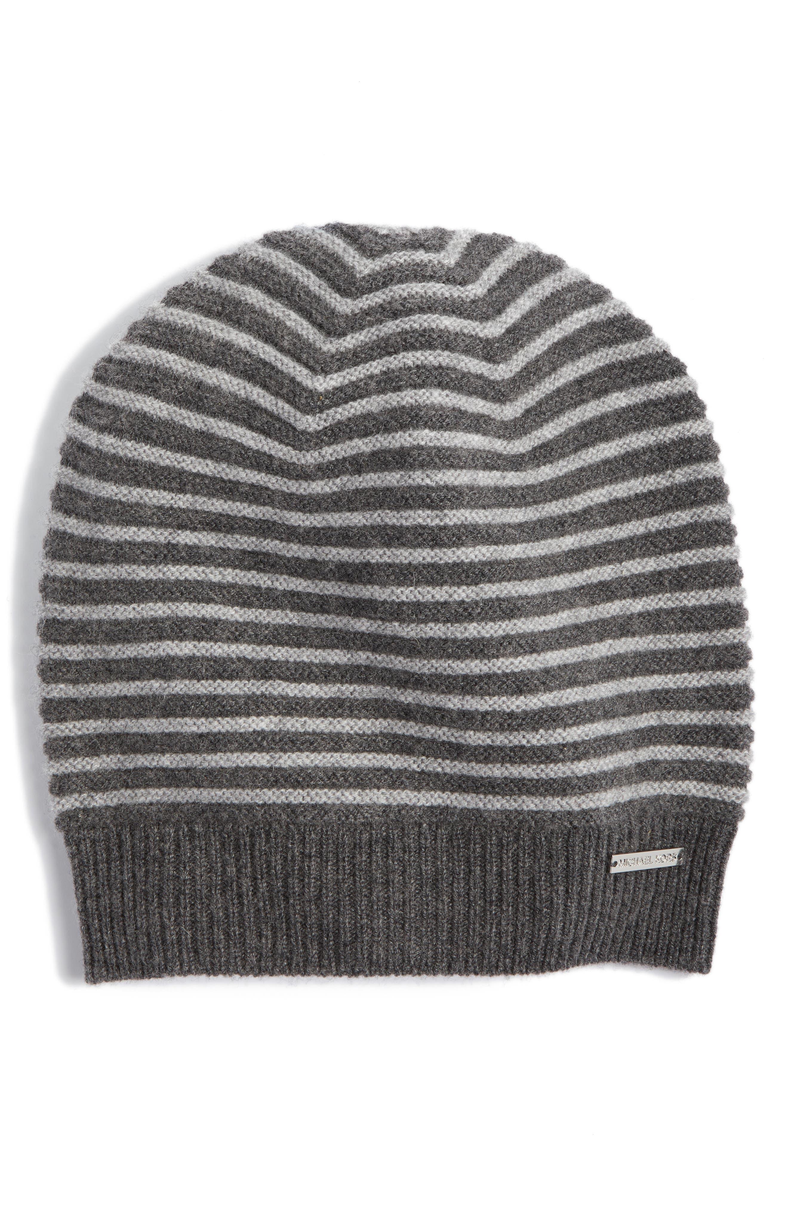 Double Links Wool & Cashmere Hat,                             Main thumbnail 2, color,