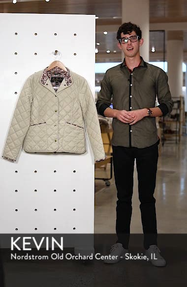 x Liberty Evelyn Quilted Jacket, sales video thumbnail