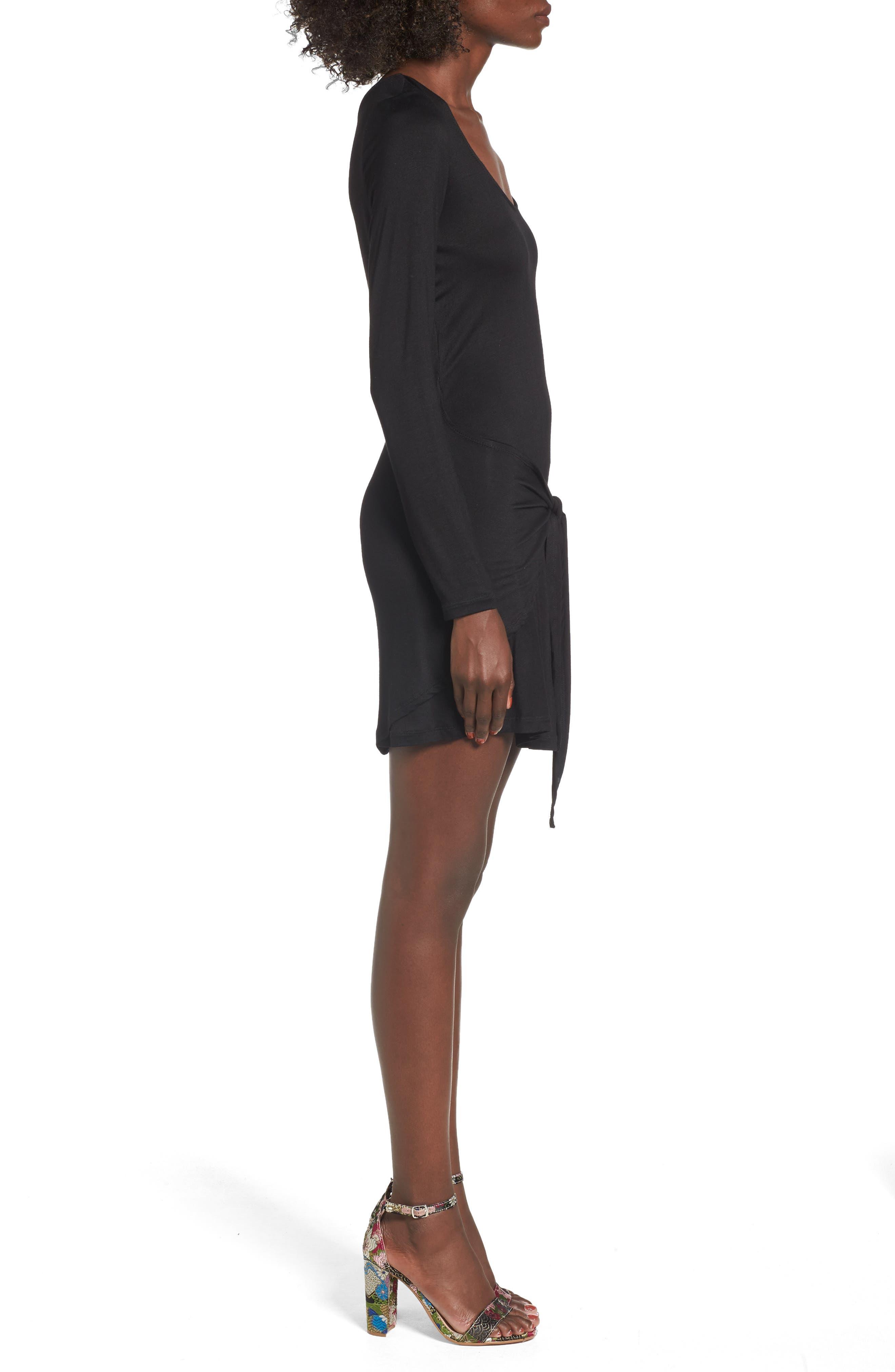 Tie Waist Dress,                             Alternate thumbnail 5, color,