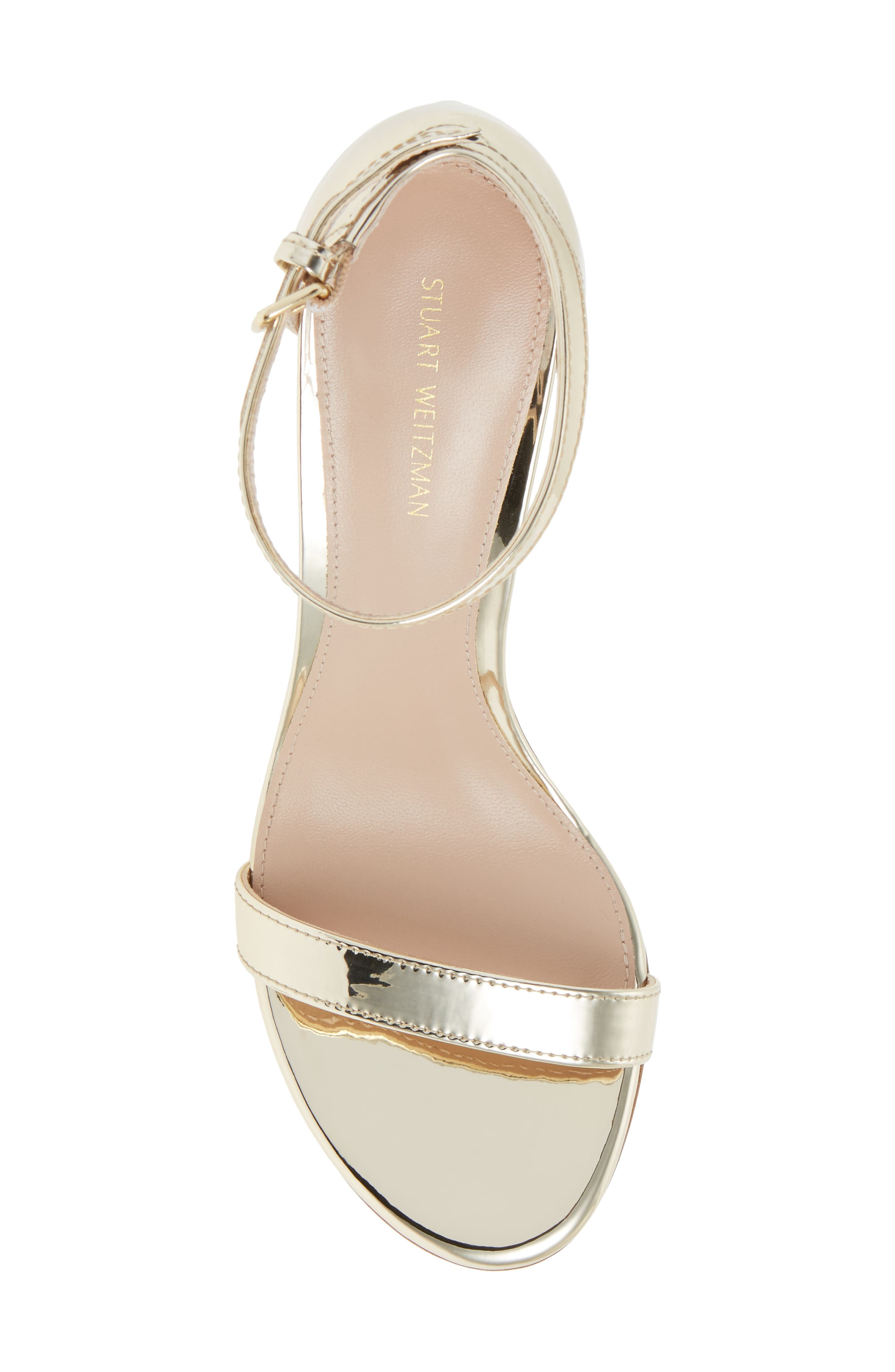 NearlyNude Ankle Strap Sandal,                             Alternate thumbnail 117, color,
