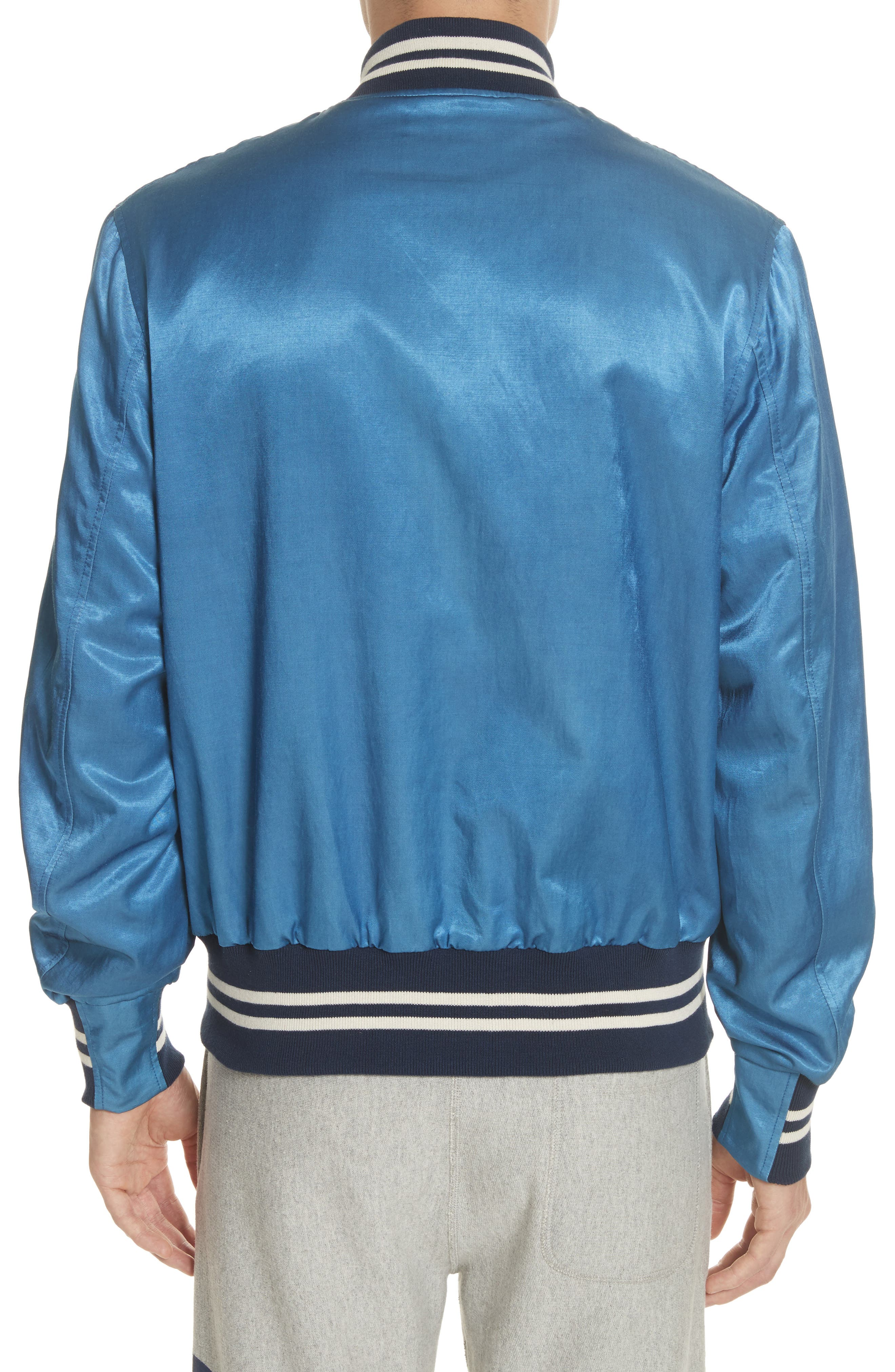 + Champion Bomber Jacket,                             Alternate thumbnail 2, color,