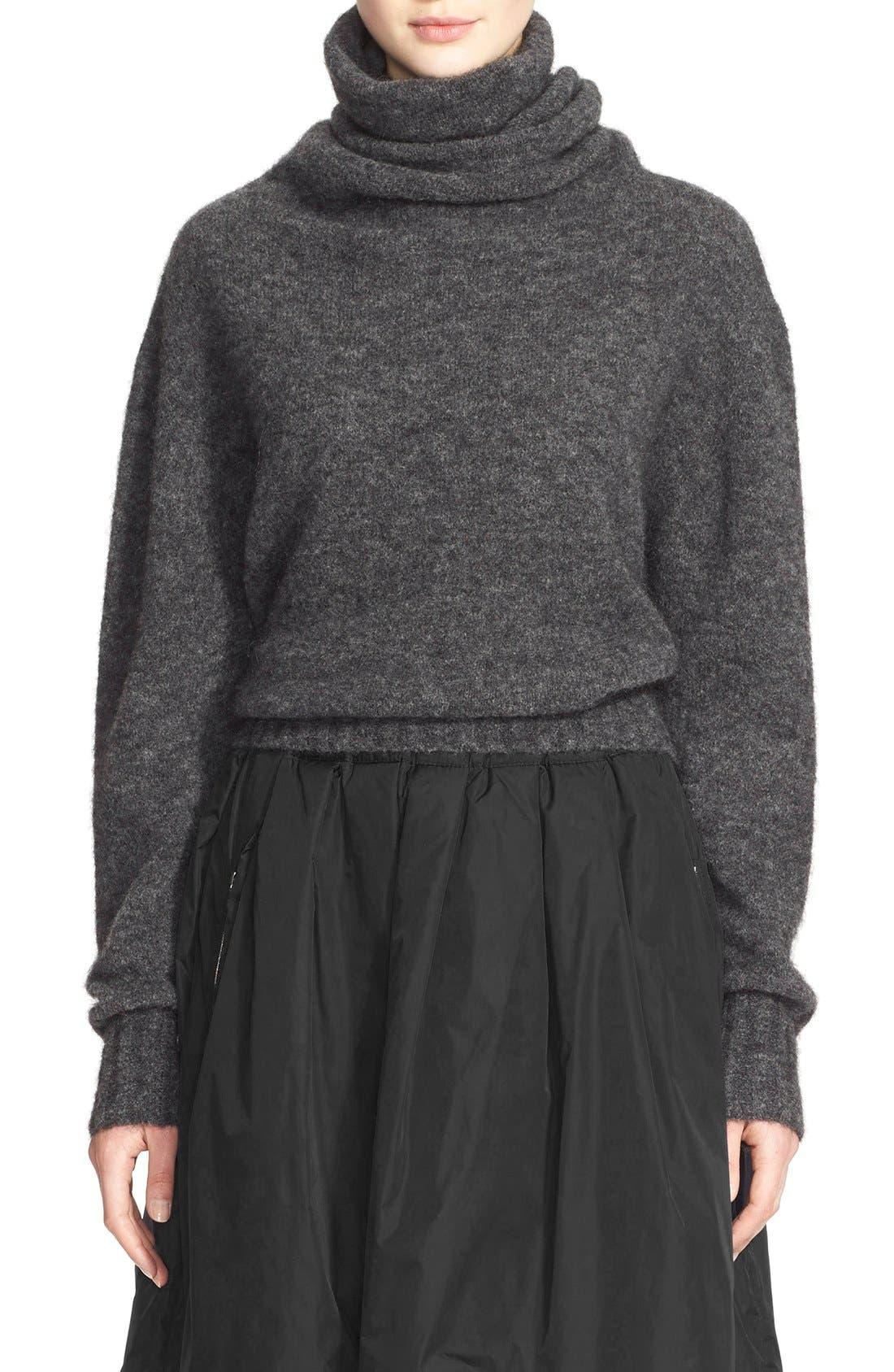 'Voletta Mohair' Turtleneck Sweater,                             Main thumbnail 1, color,                             021