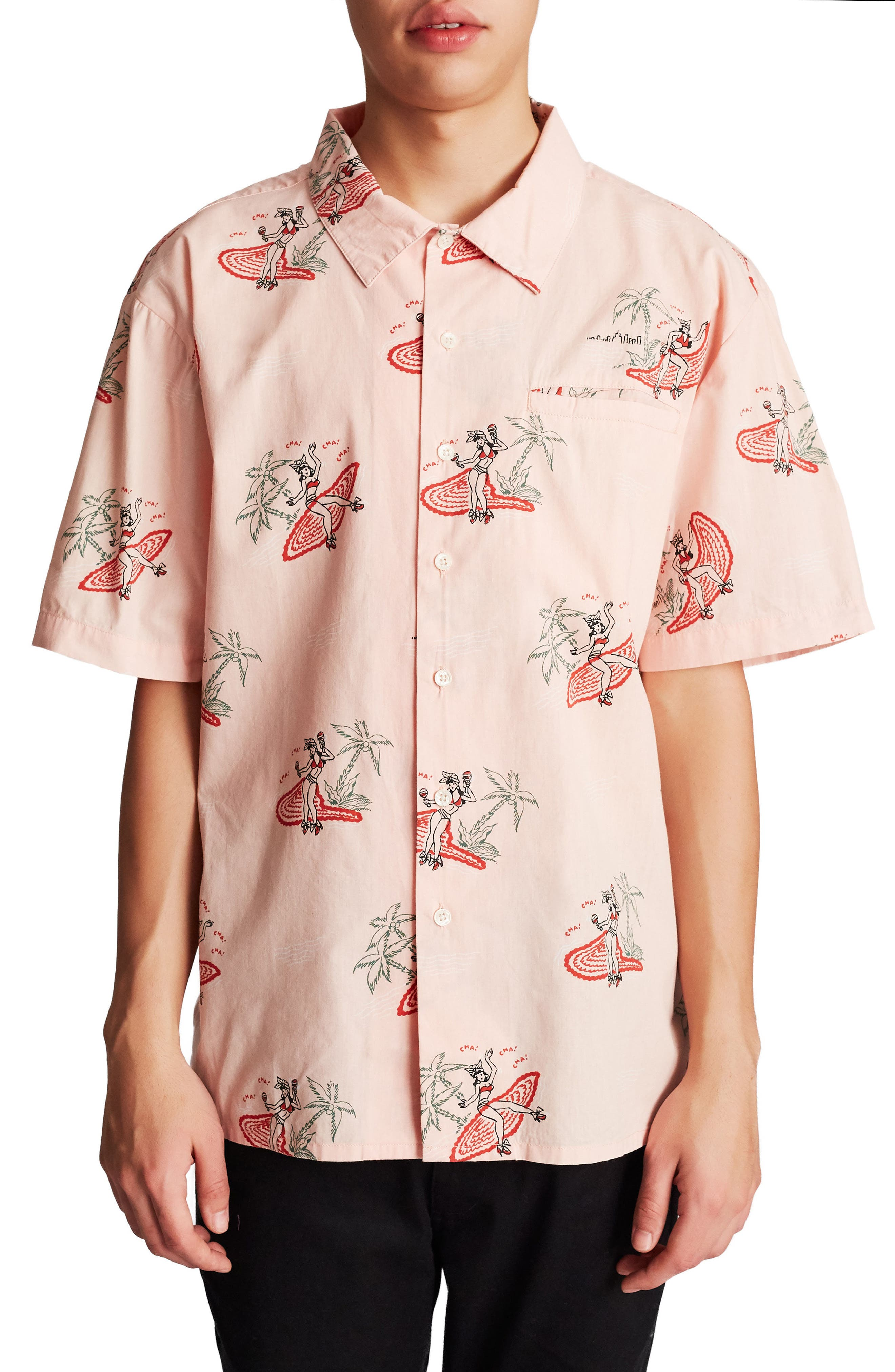 Bueller Woven Shirt,                             Main thumbnail 1, color,                             650