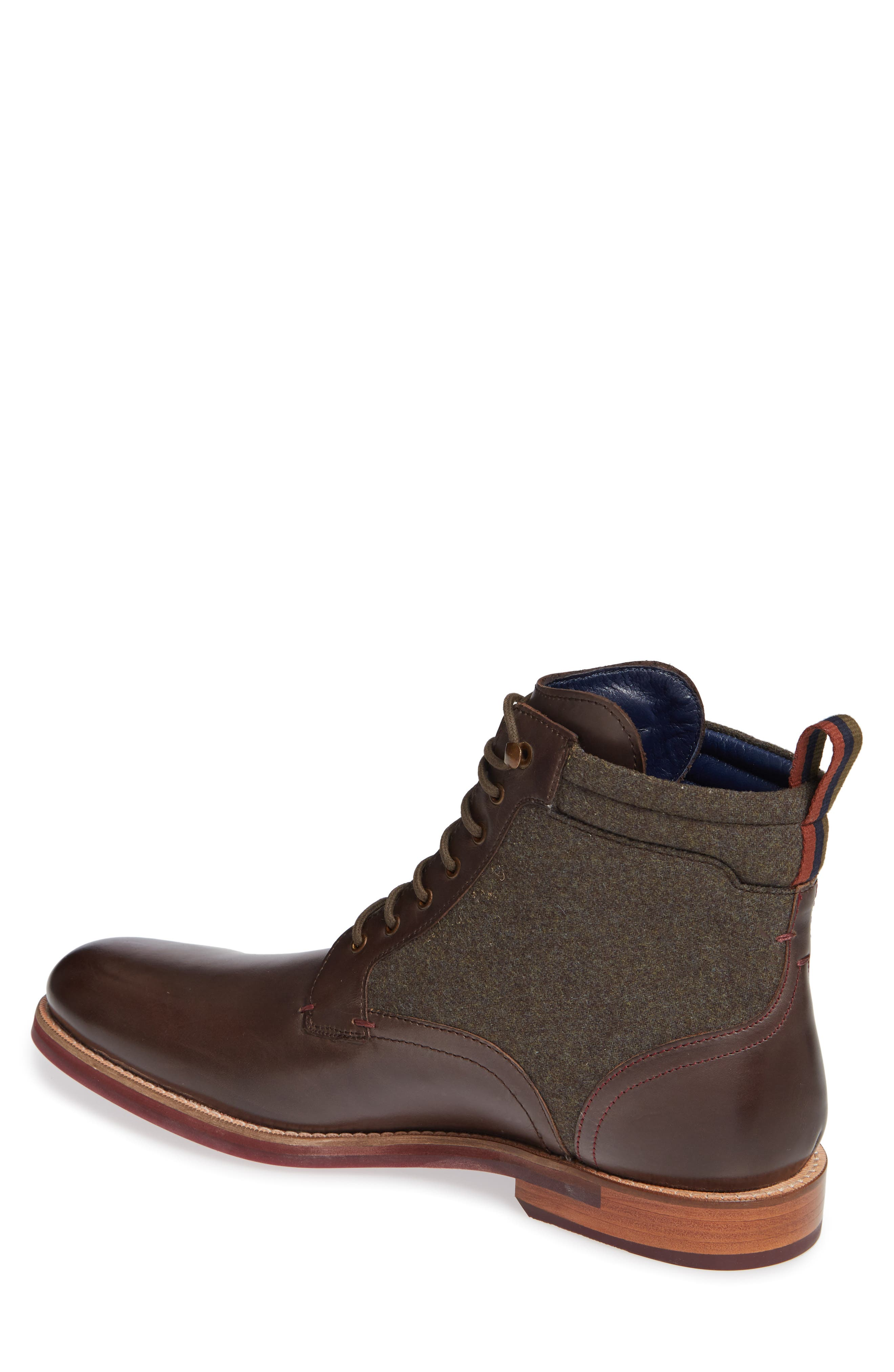 Axtoni Boot,                             Alternate thumbnail 2, color,                             BROWN LEATHER