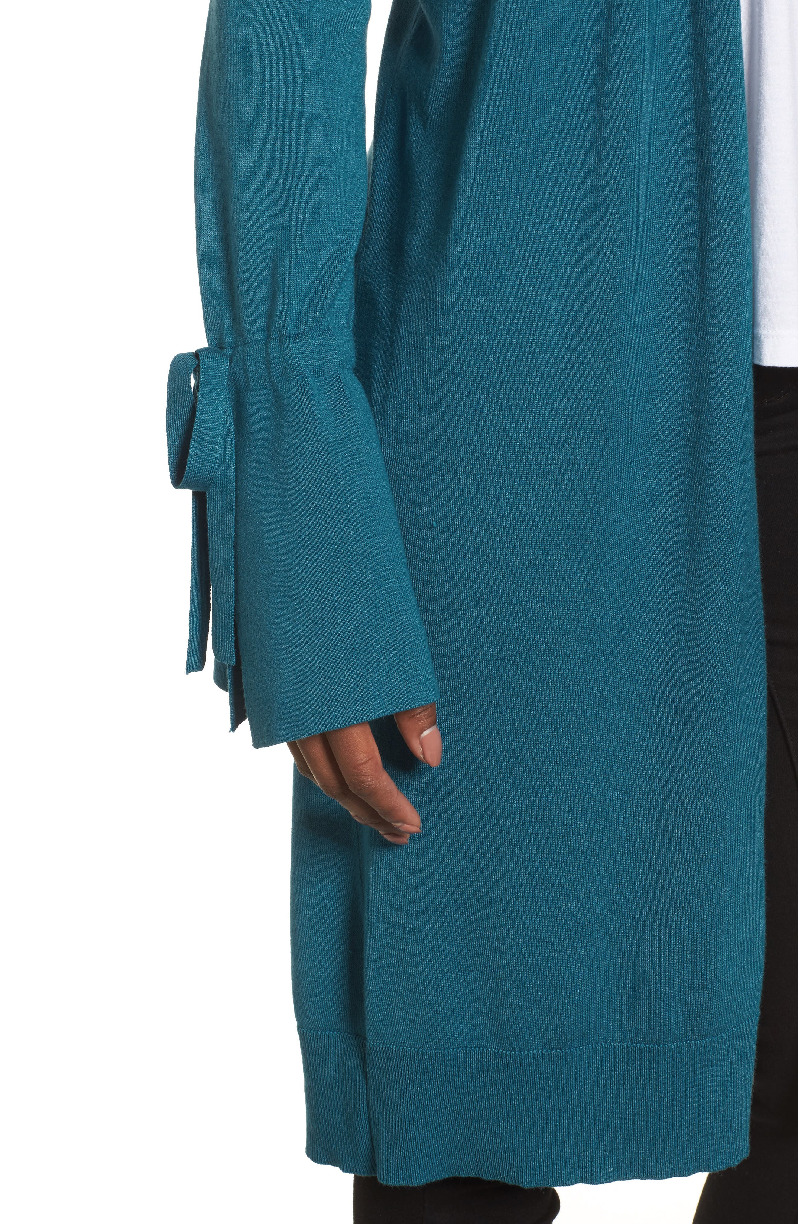 Lightweight Tie Sleeve Cardigan,                             Alternate thumbnail 48, color,