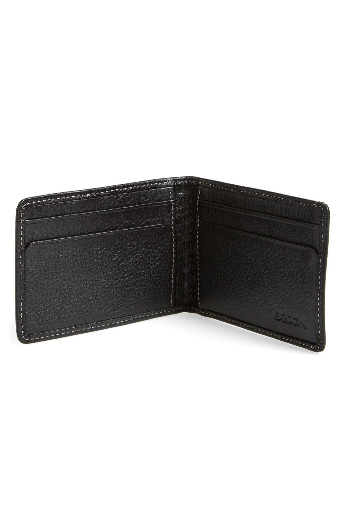 'Tyler' Money Clip Wallet,                             Alternate thumbnail 6, color,                             001