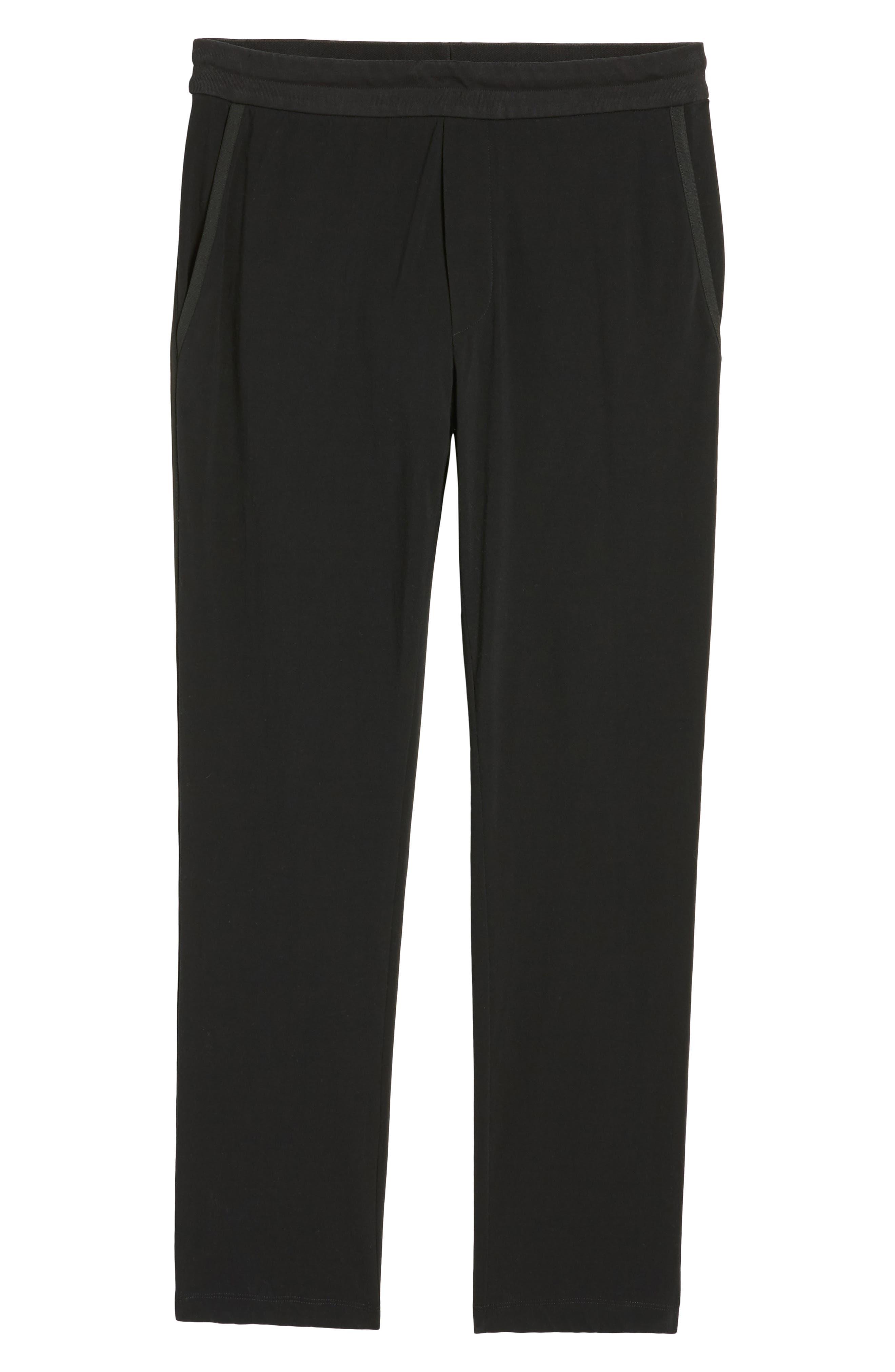 Cotton Pants,                             Alternate thumbnail 6, color,                             001
