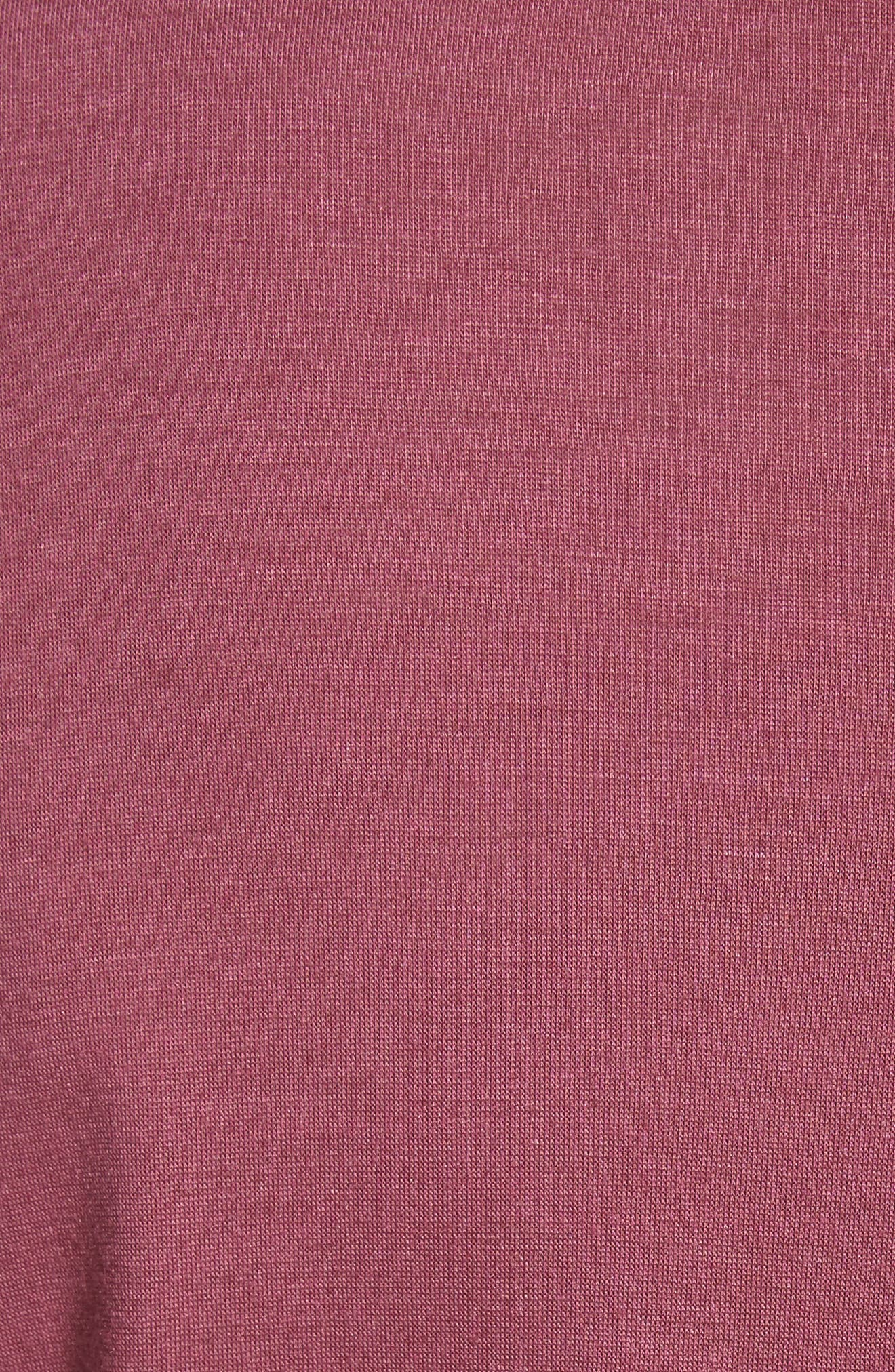 Perfect Boatneck Tee,                             Alternate thumbnail 5, color,
