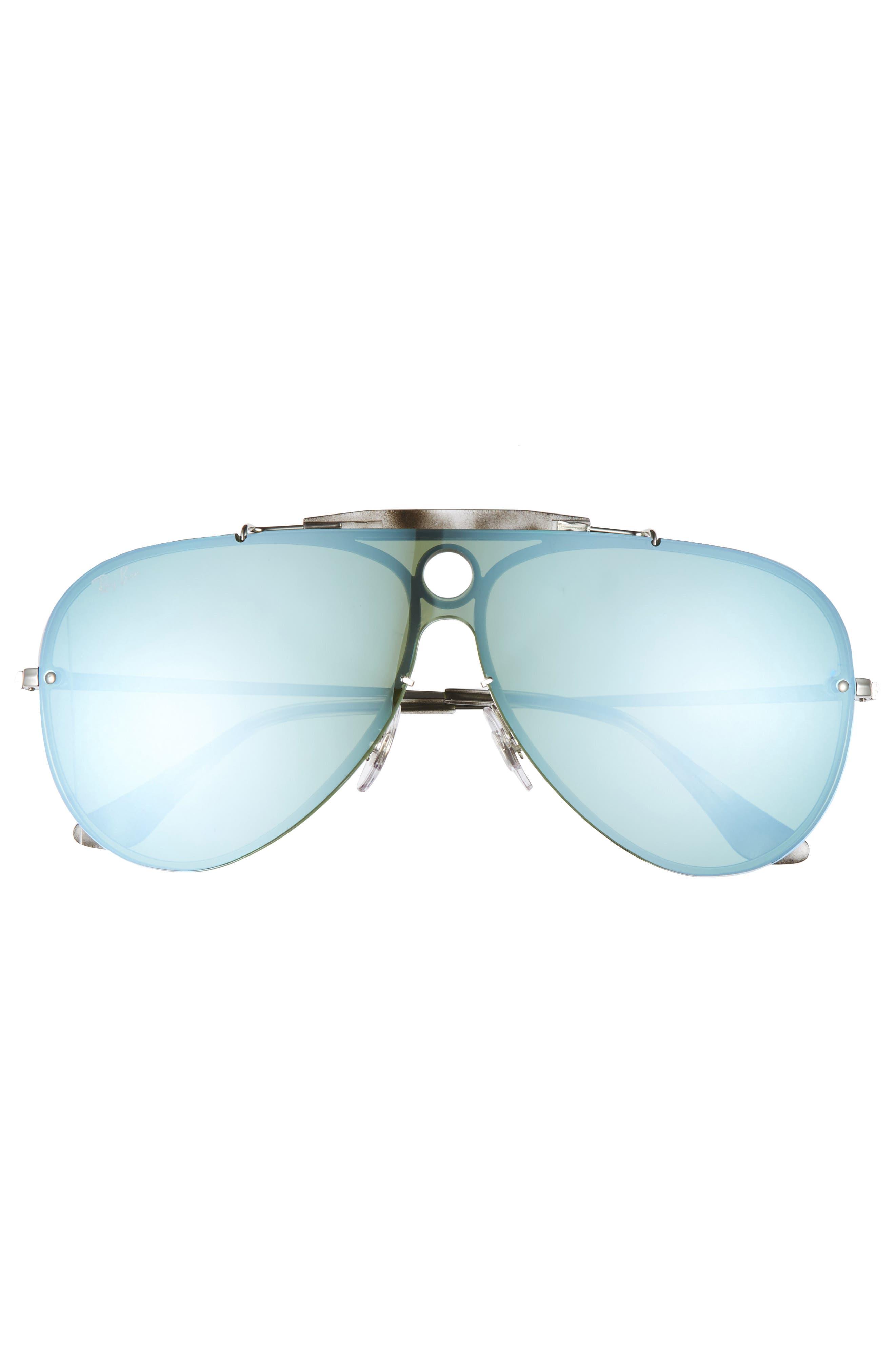 Aviator Shield Sunglasses,                             Alternate thumbnail 8, color,