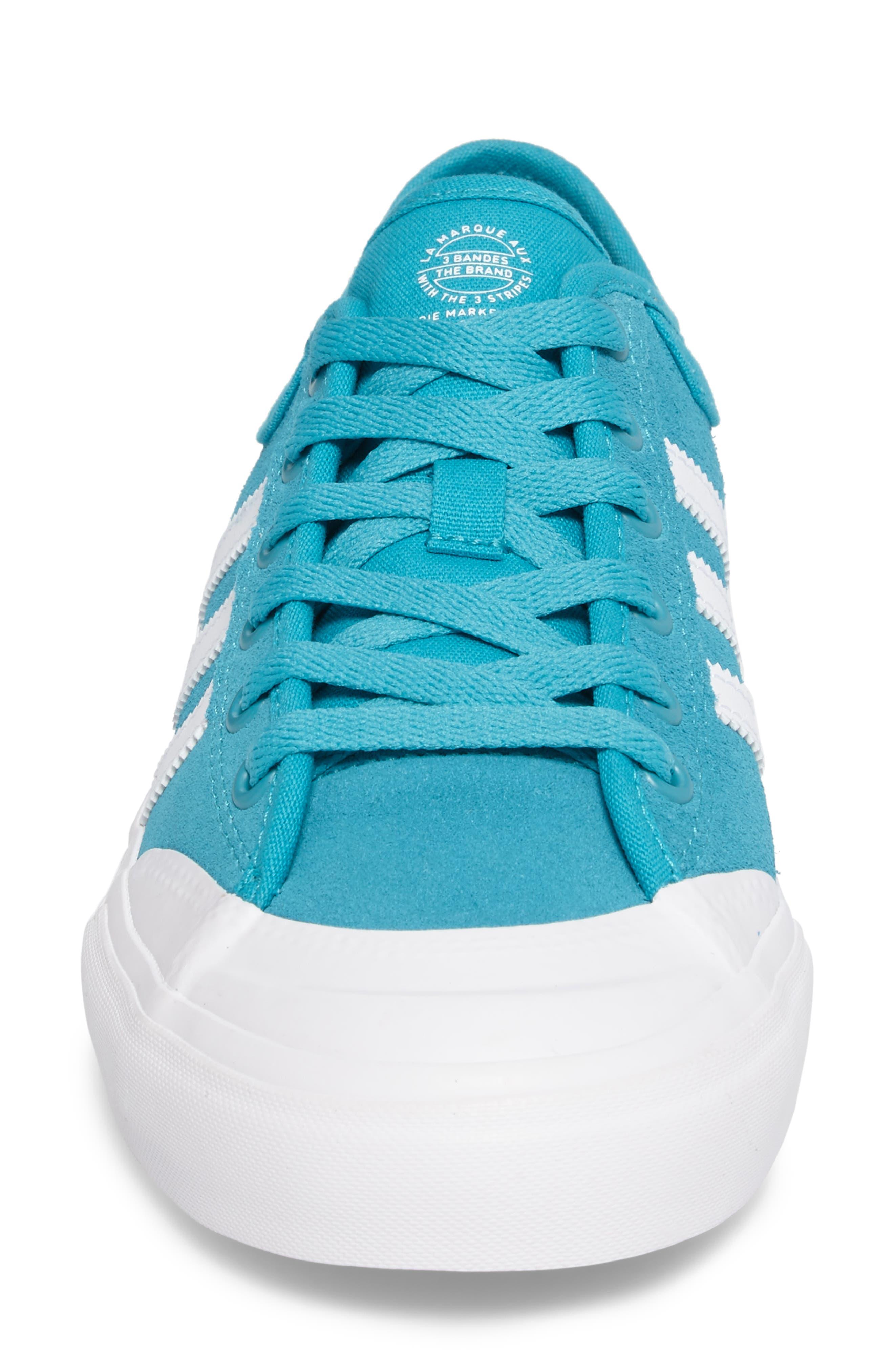 ADIDAS,                             Matchcourt Mid High Sneaker,                             Alternate thumbnail 4, color,                             400