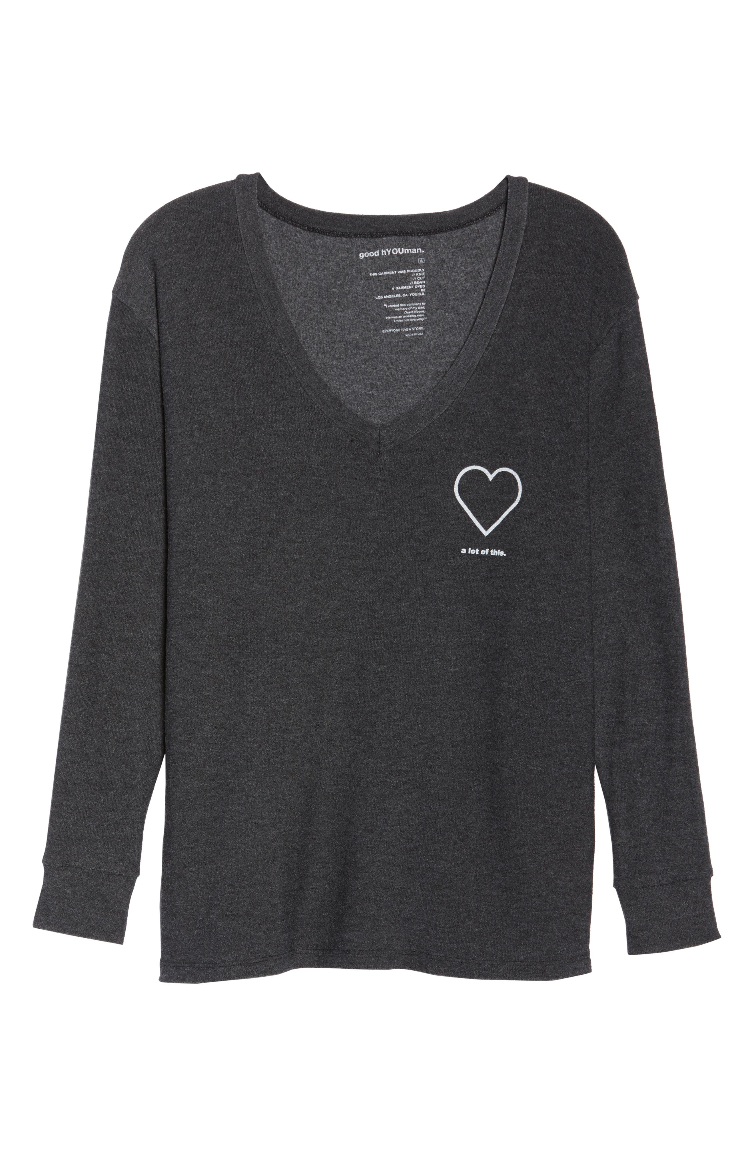 The Robin - Heart A Lot of This Sweatshirt,                             Alternate thumbnail 7, color,                             004