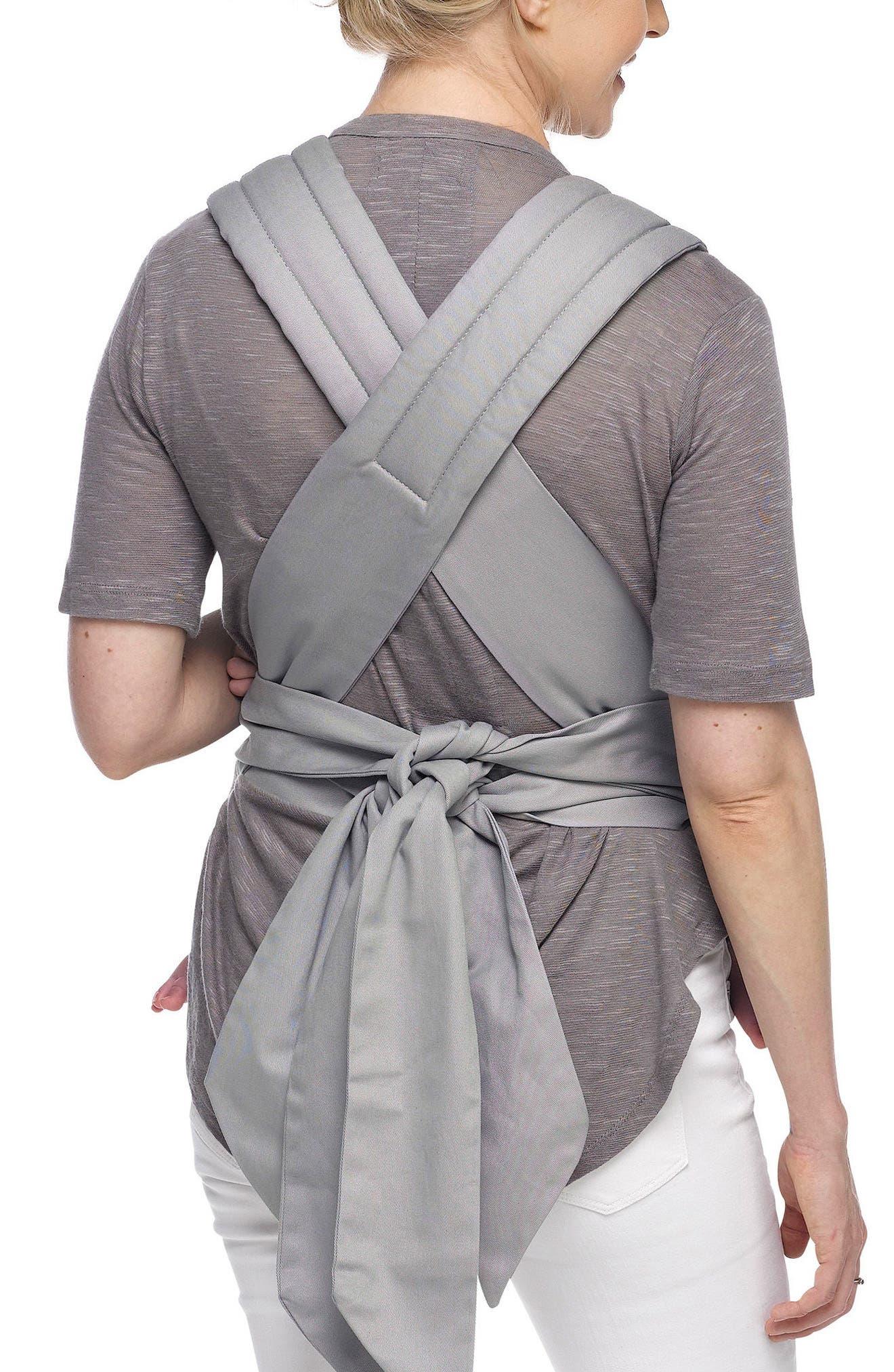 Wrap Double Tie Baby Carrier,                             Alternate thumbnail 4, color,