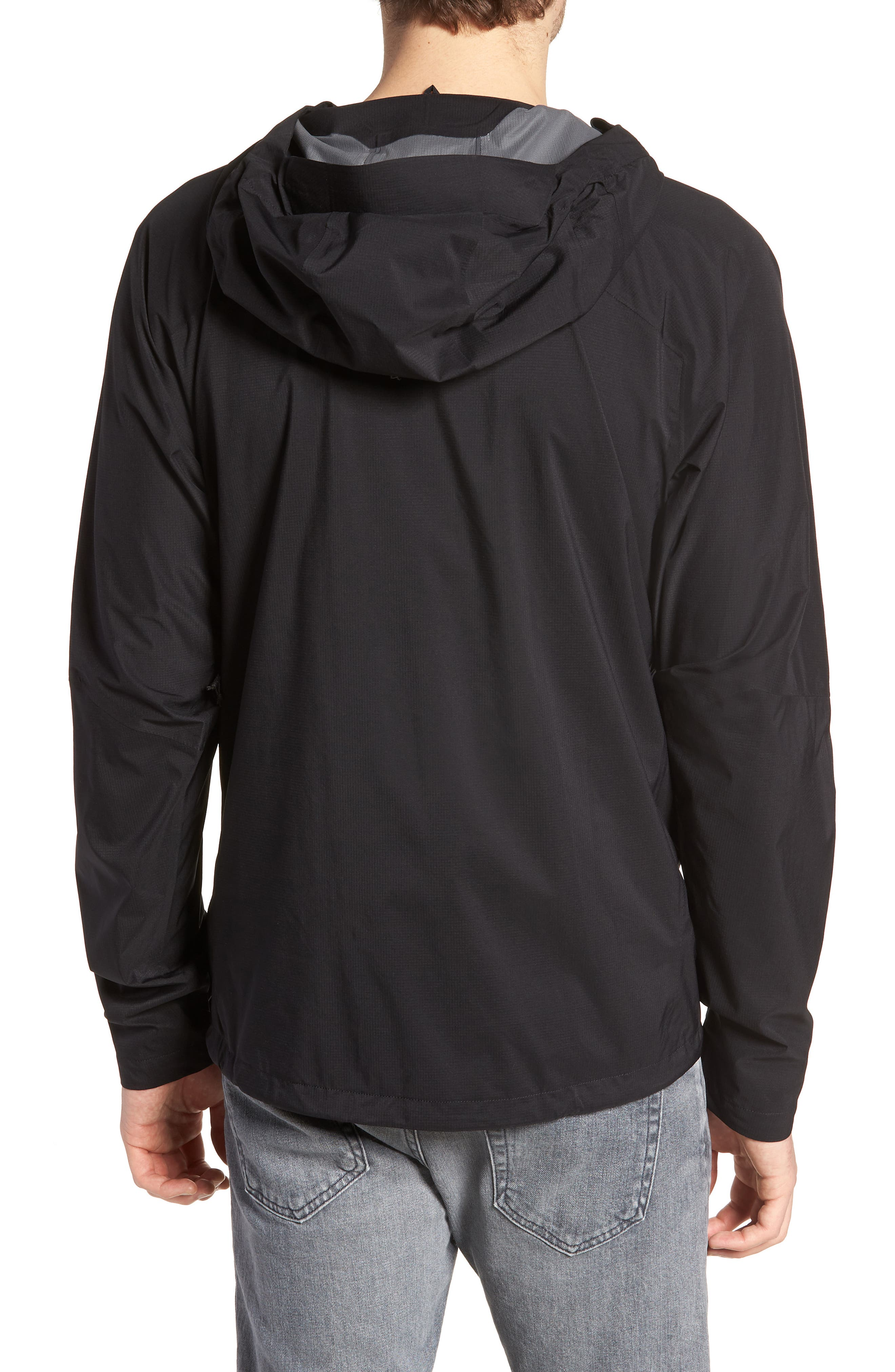 Stretch Rainshadow Jacket,                             Alternate thumbnail 2, color,                             001