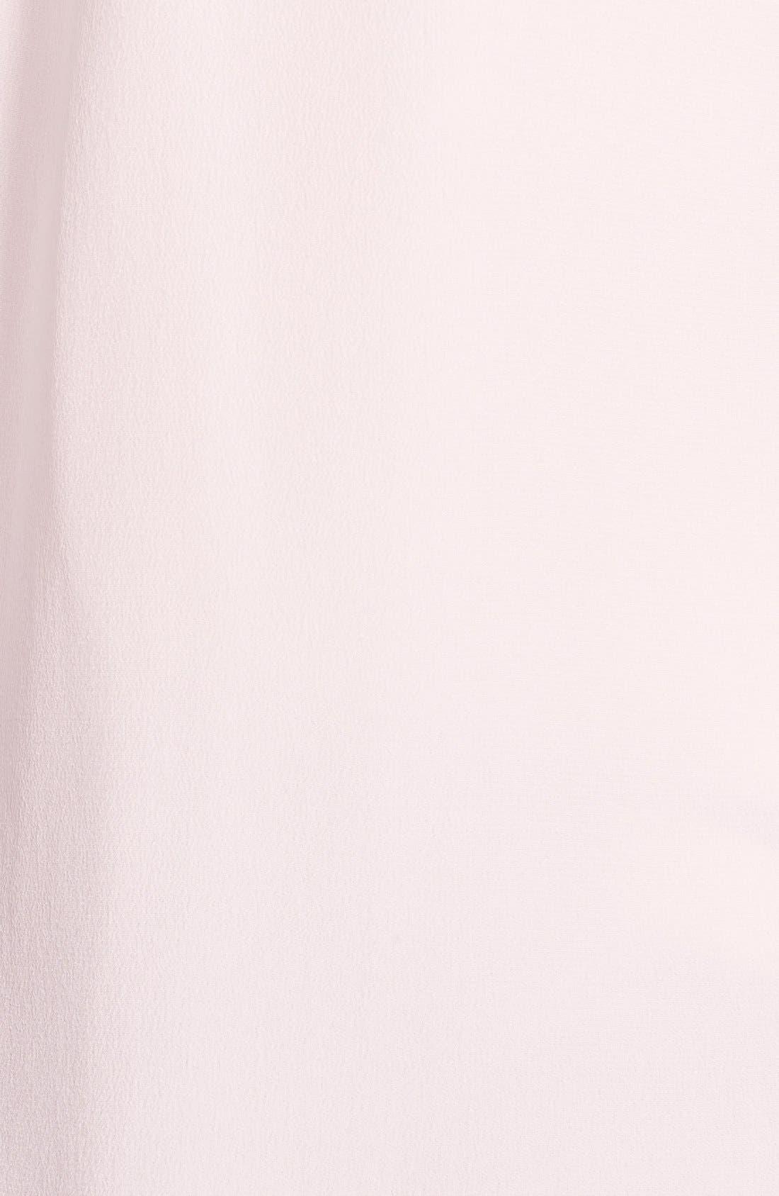 'Slim Signature' Sleeveless Silk Shirt,                             Alternate thumbnail 127, color,