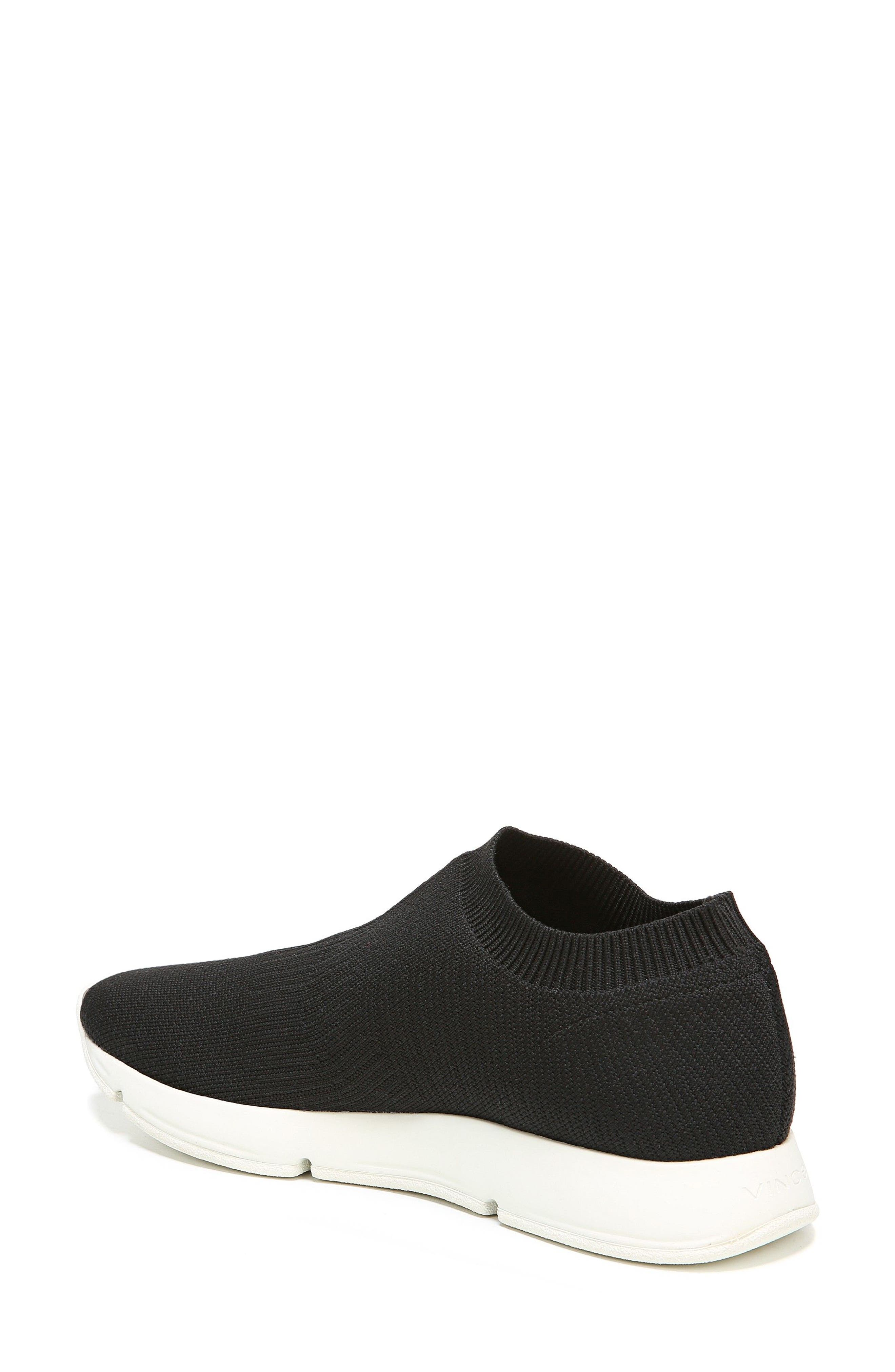 Theroux Slip-On Knit Sneaker,                             Alternate thumbnail 4, color,