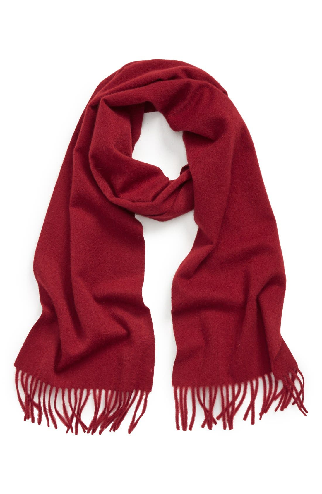 Solid Woven Cashmere Scarf,                             Main thumbnail 13, color,