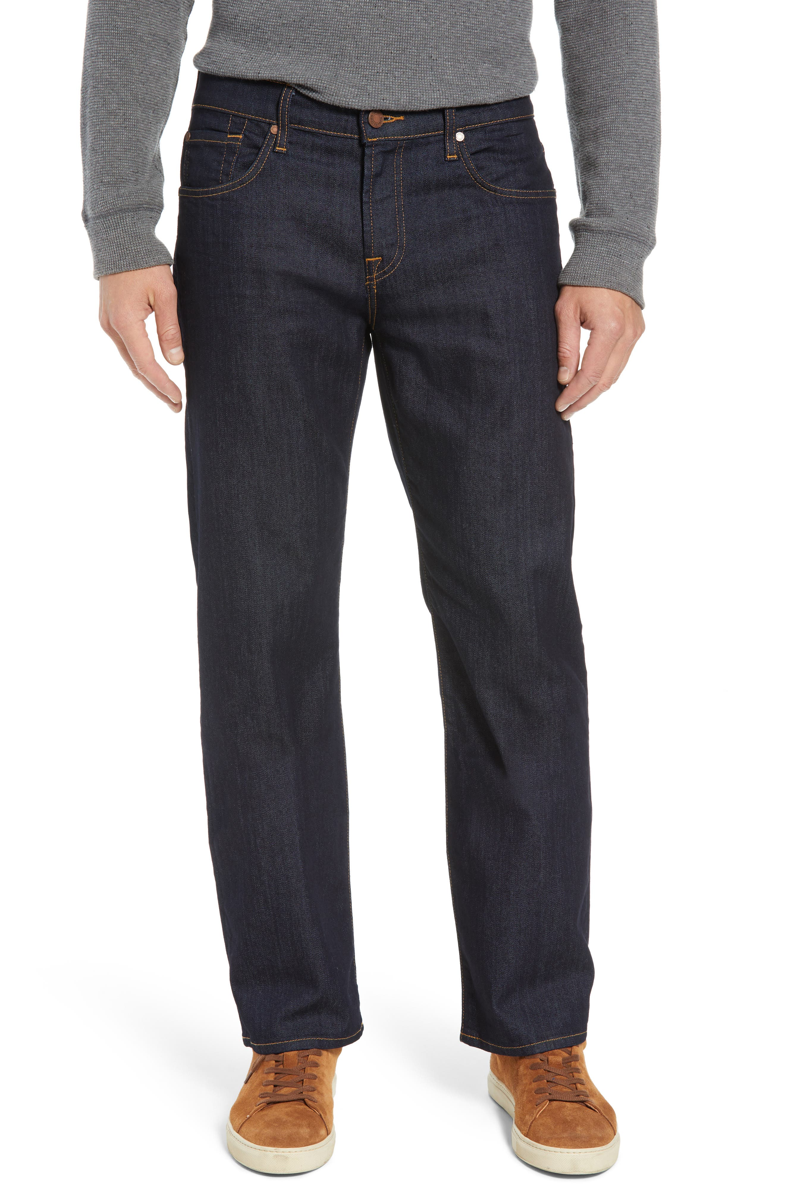 Austyn Airweft Relaxed Straight Leg Jeans,                             Main thumbnail 1, color,                             CAVEAT