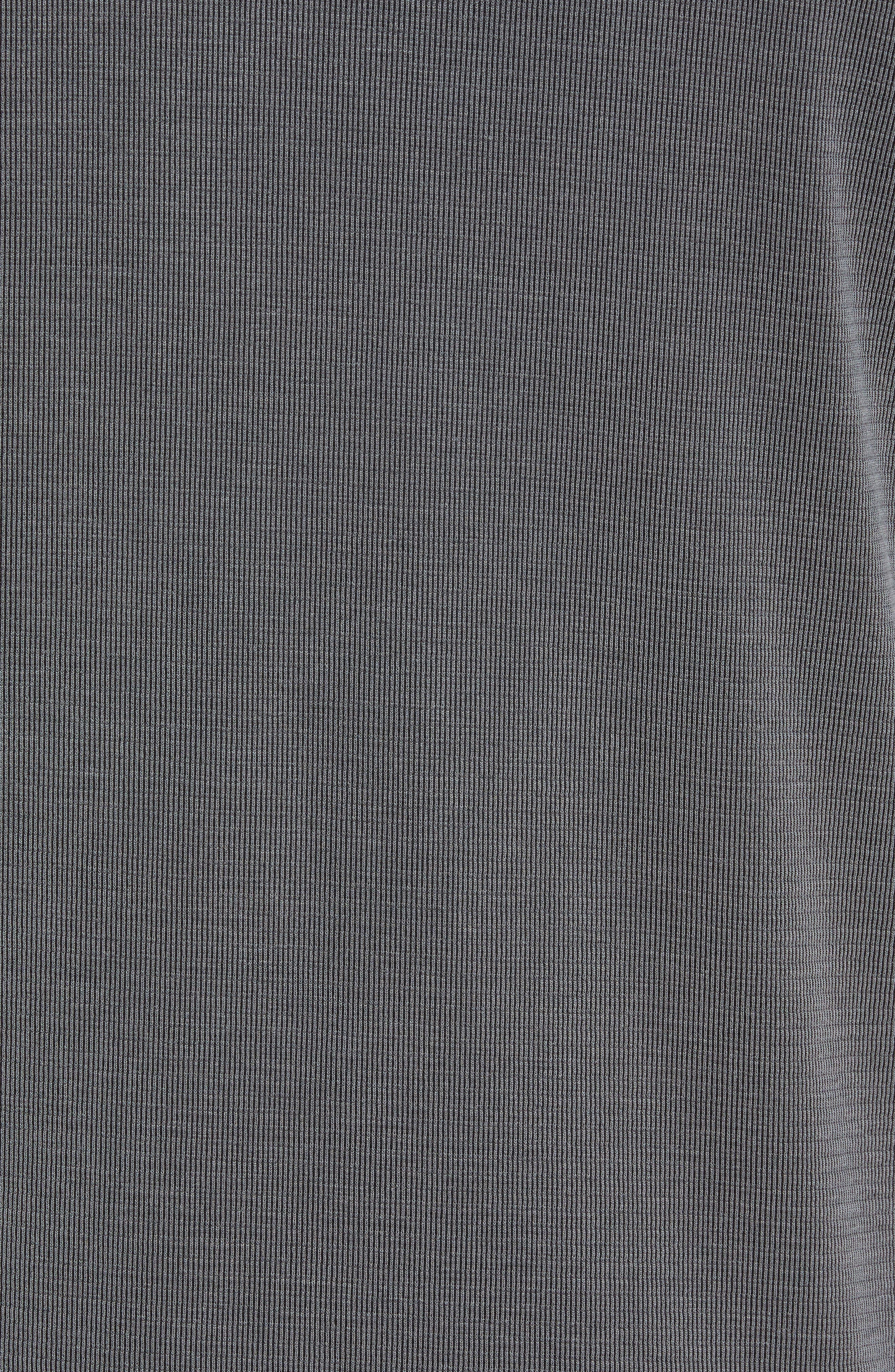 Coastal Crest Regular Fit Polo,                             Alternate thumbnail 5, color,                             BLACK