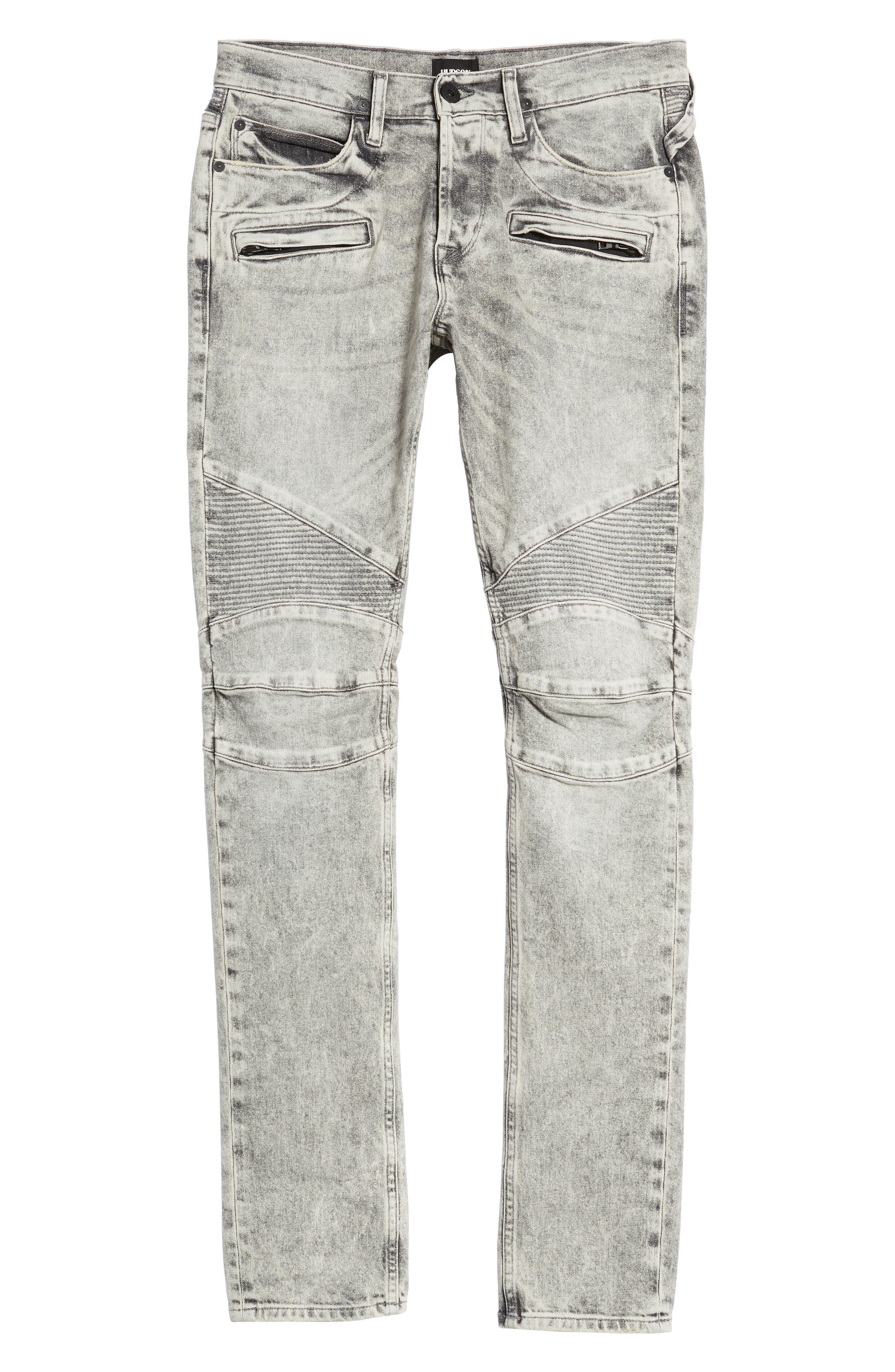 Hudson Blinder Biker Skinny Fit Jeans,                             Alternate thumbnail 6, color,                             050