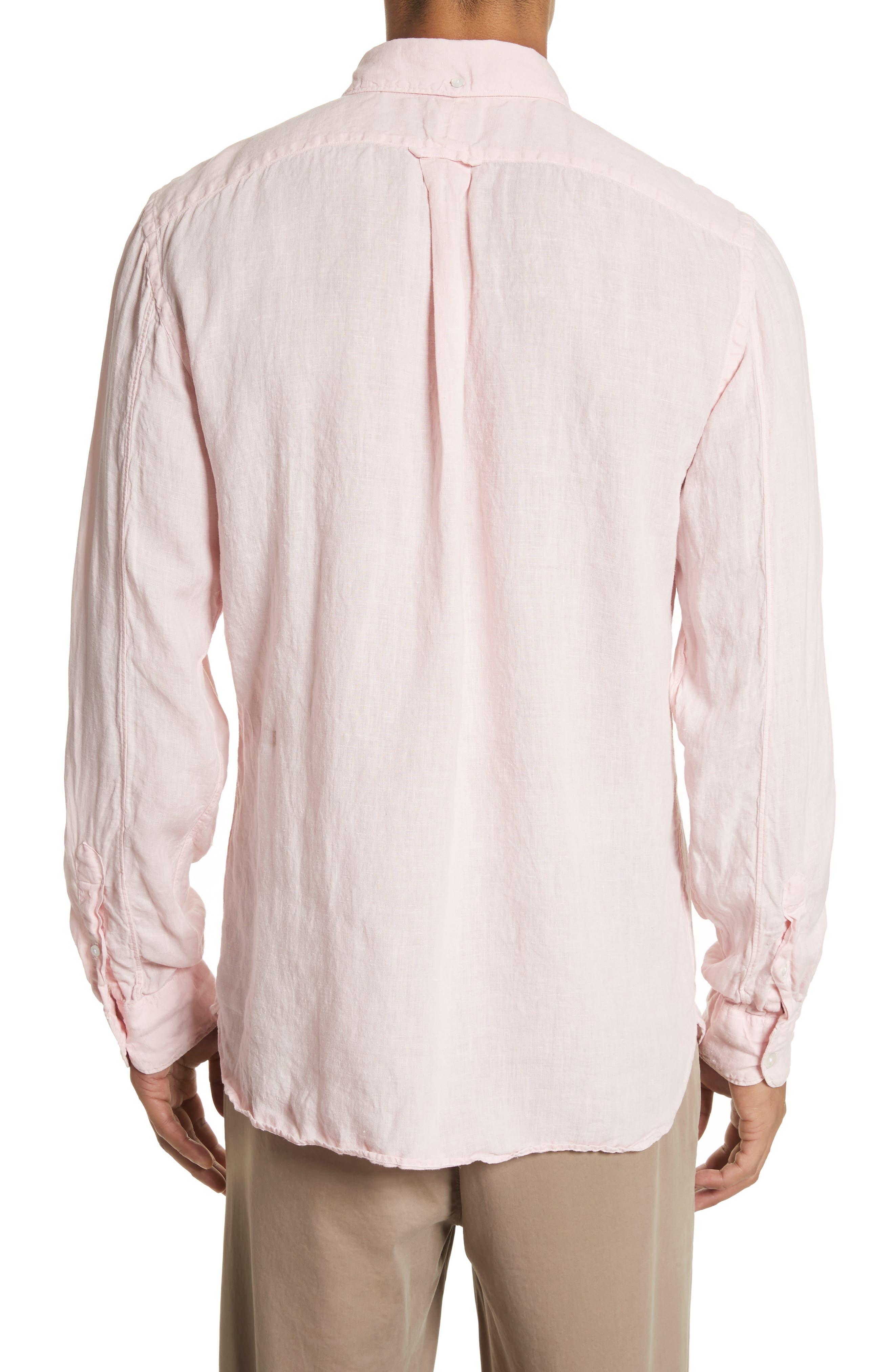 Linen Woven Shirt,                             Alternate thumbnail 2, color,                             650